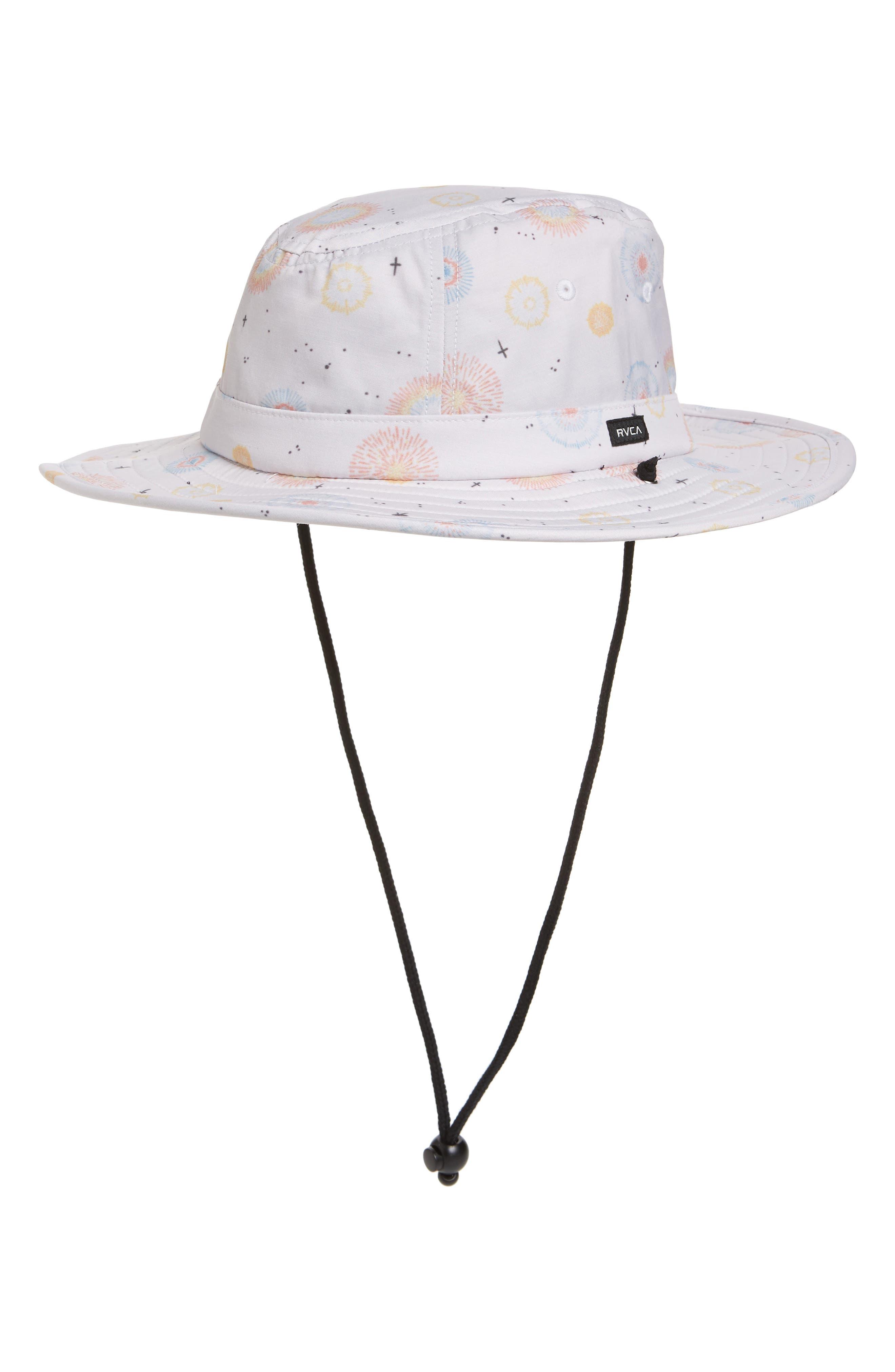 Luke Fireworks Boonie Hat,                             Main thumbnail 1, color,                             ANTIQUE WHITE