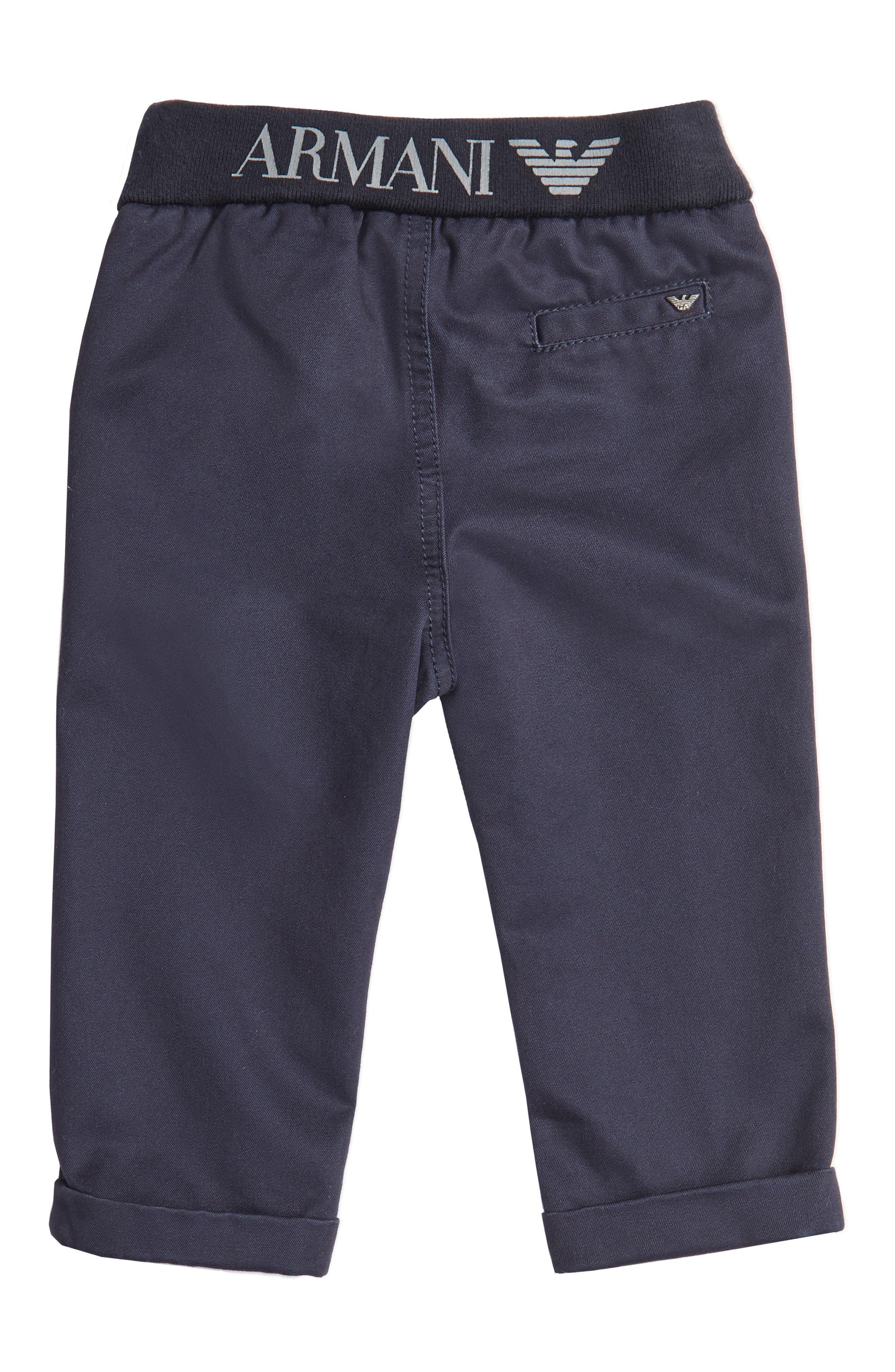 Cotton Twill Pants,                             Alternate thumbnail 2, color,                             424