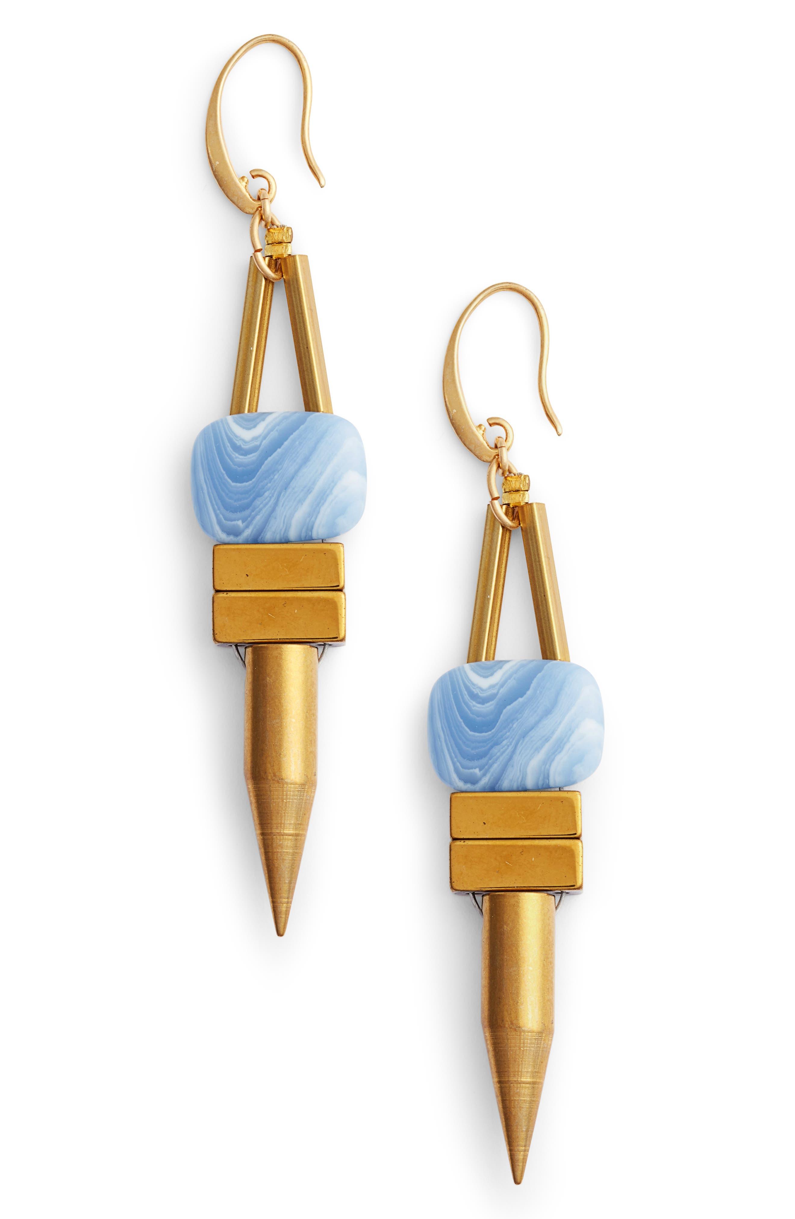 Rylee Spike Drop Earrings,                         Main,                         color, 400