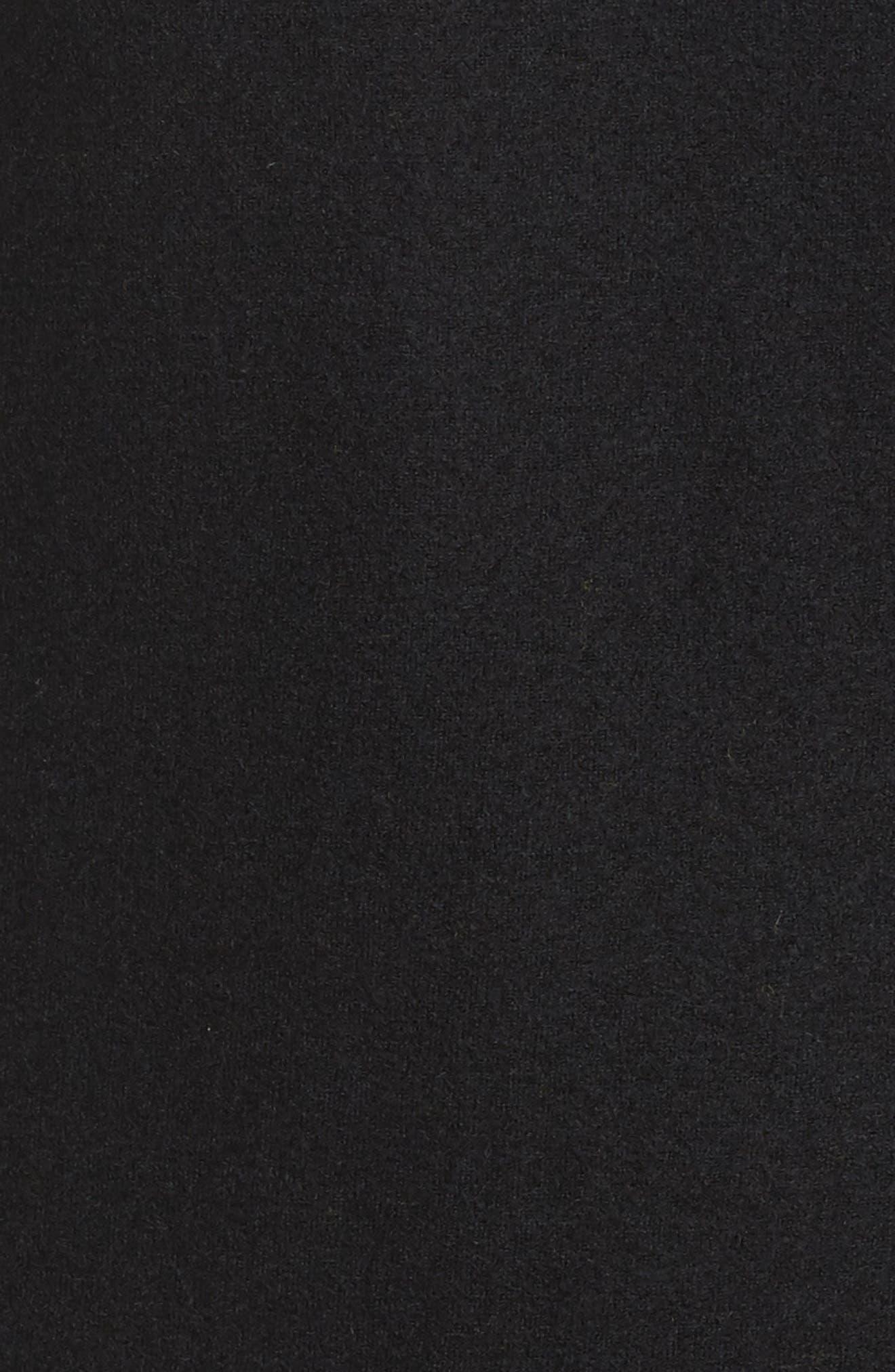 Boiled Wool Jacket,                             Alternate thumbnail 5, color,                             001