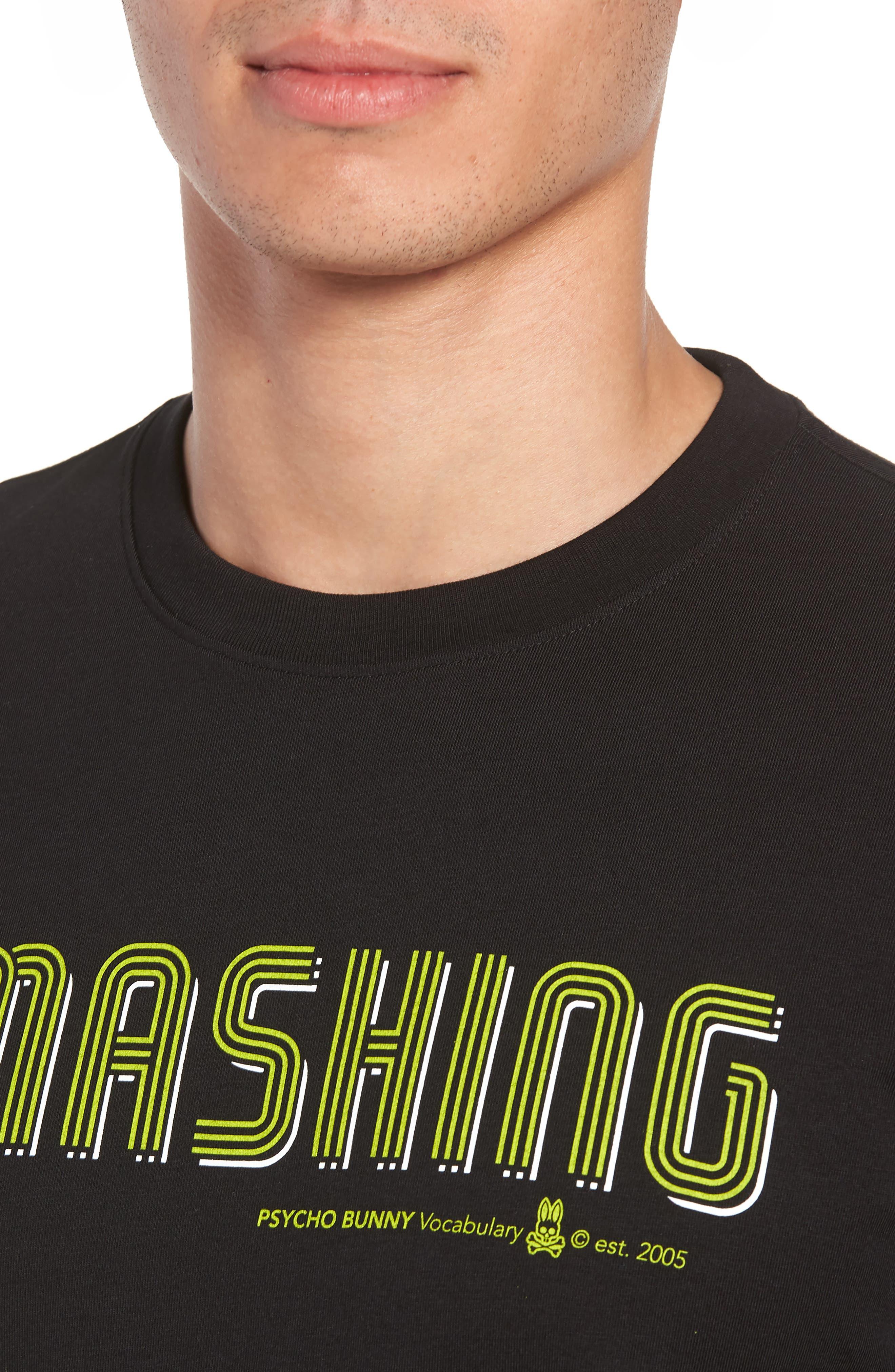Smashing Graphic T-Shirt,                             Alternate thumbnail 4, color,                             001