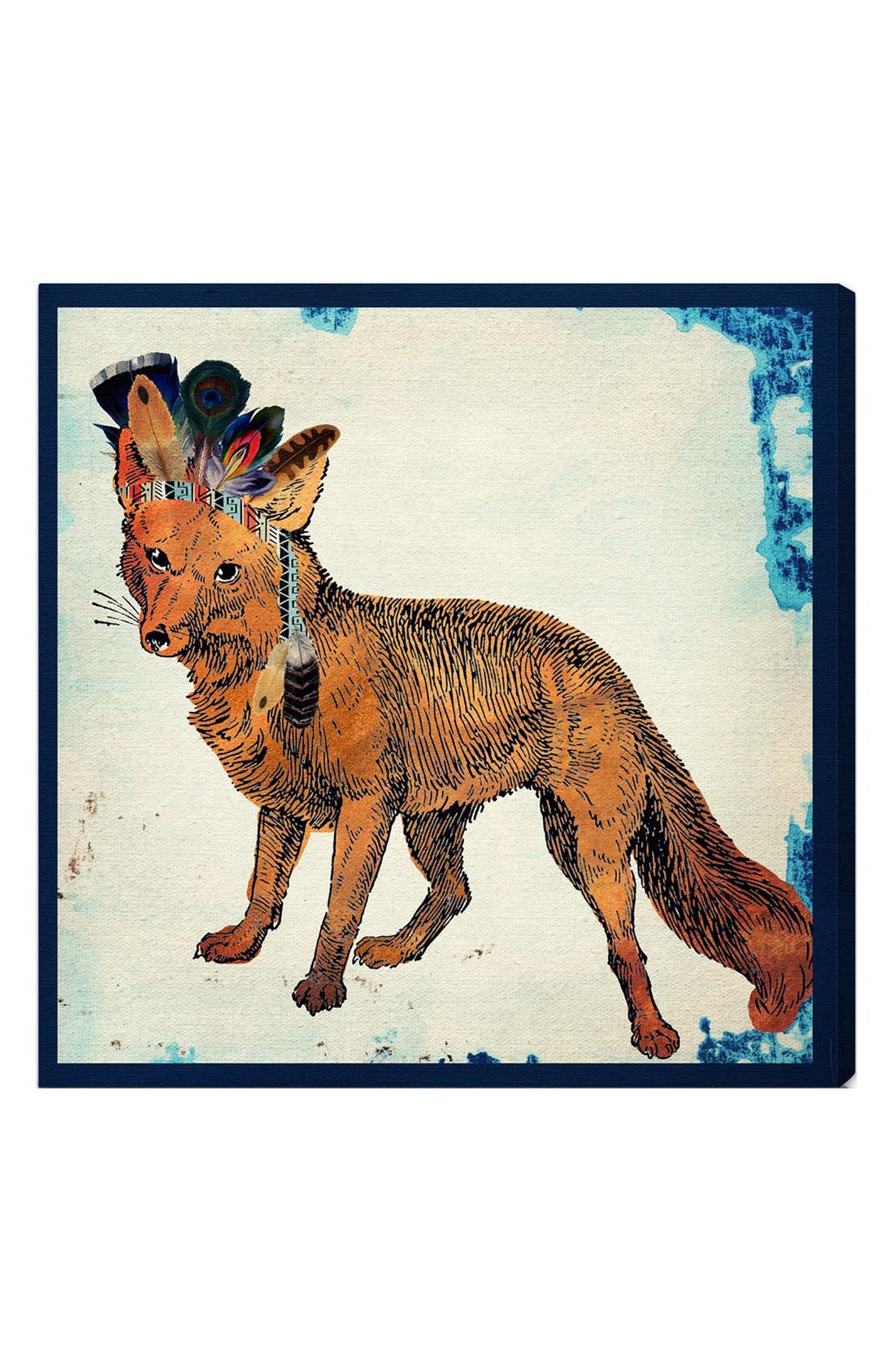 'Wild Fox' Wall Art,                             Main thumbnail 1, color,                             250