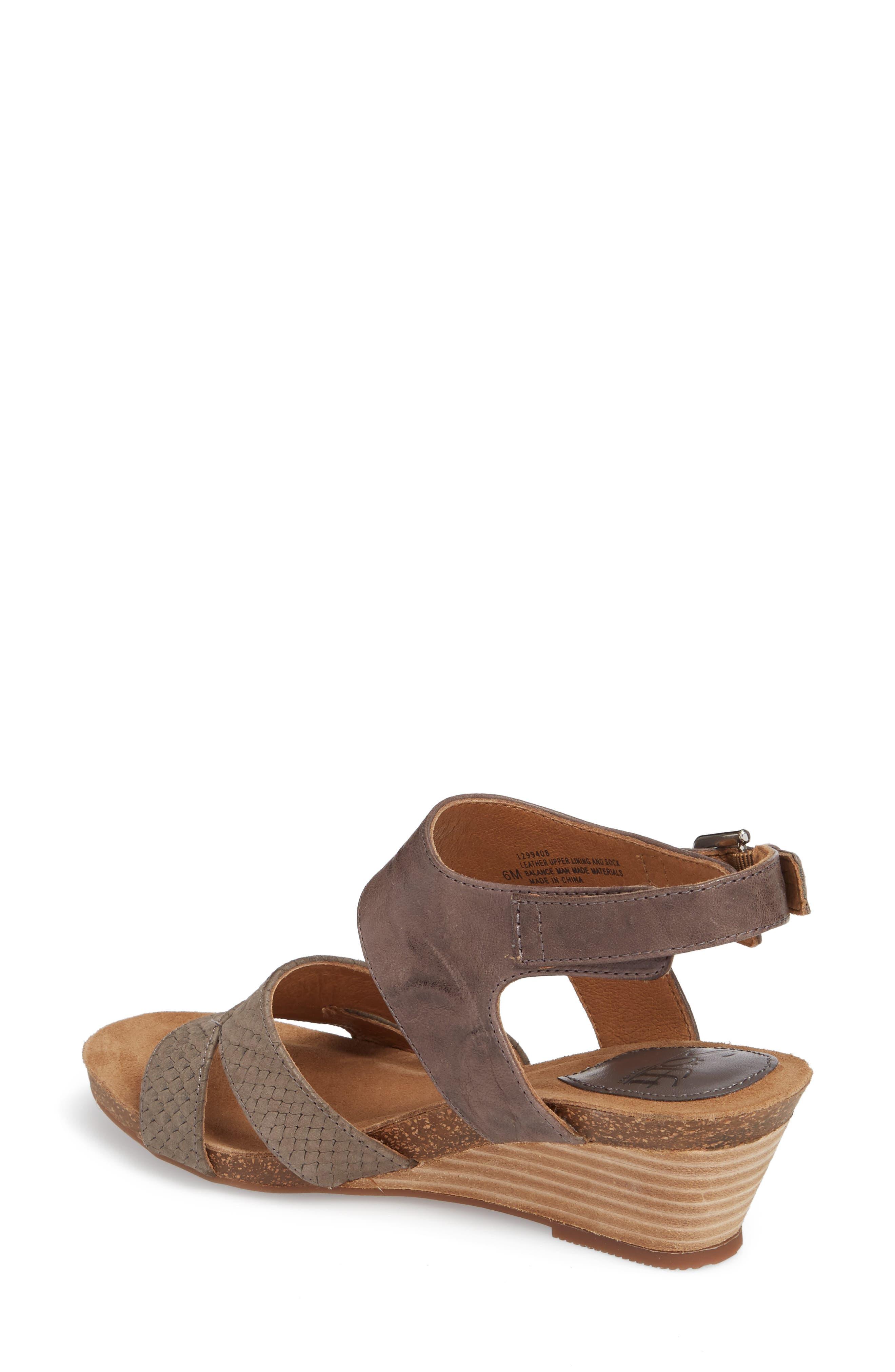 Velden Wedge Sandal,                             Alternate thumbnail 5, color,