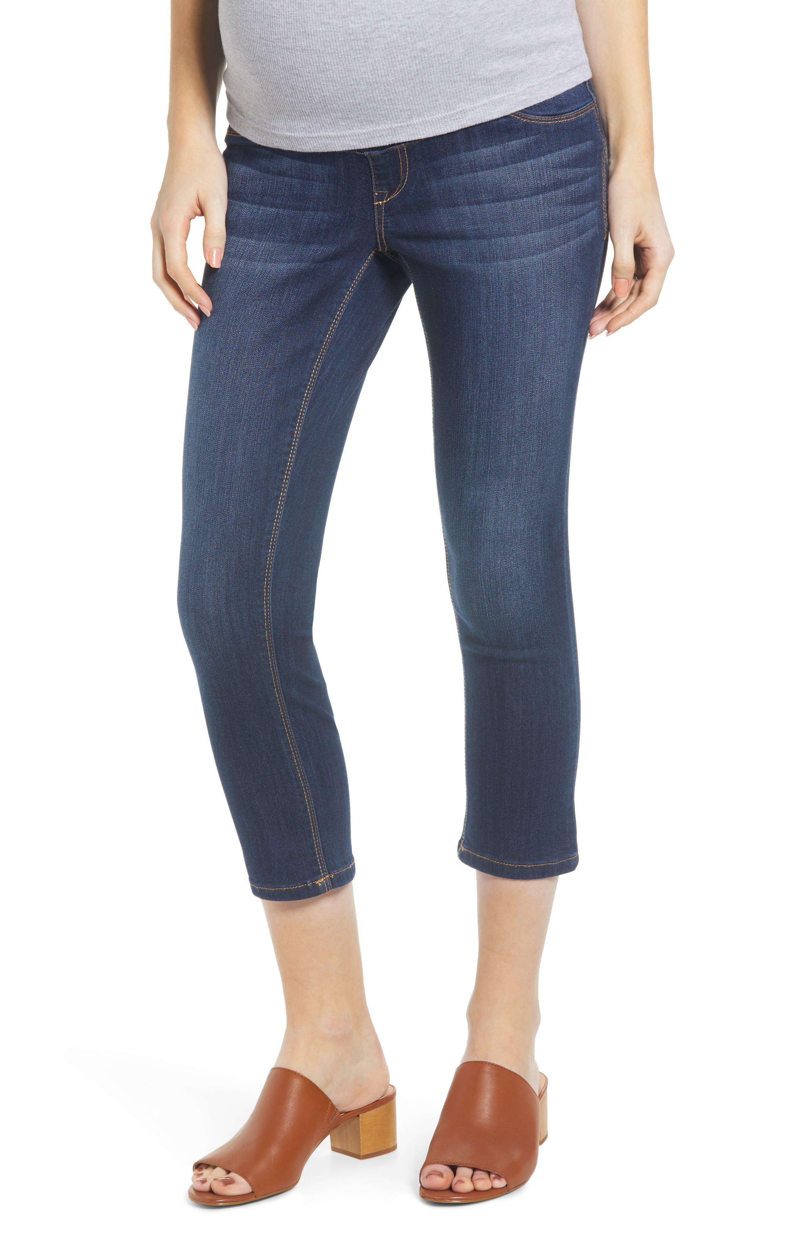 Women's 1822 Denim Crop Maternity Skinny Jeans