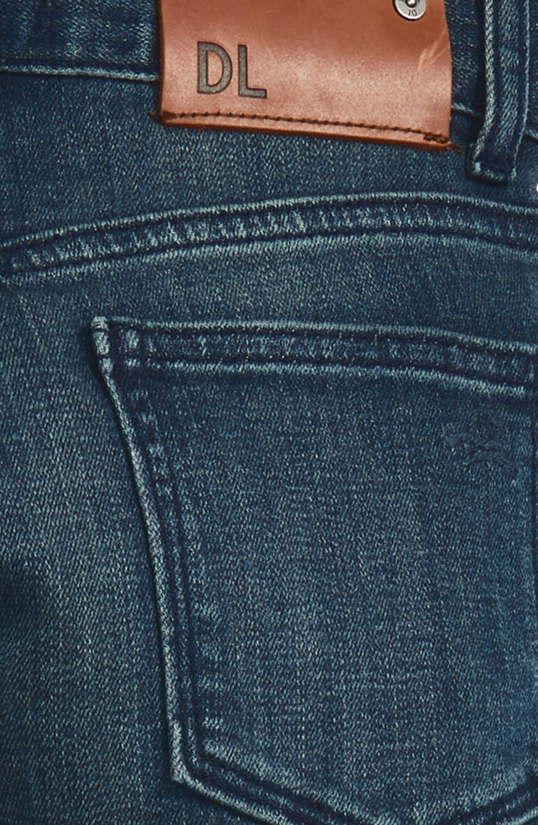 'Hawke' Skinny Jeans,                             Alternate thumbnail 3, color,                             SCABBARD