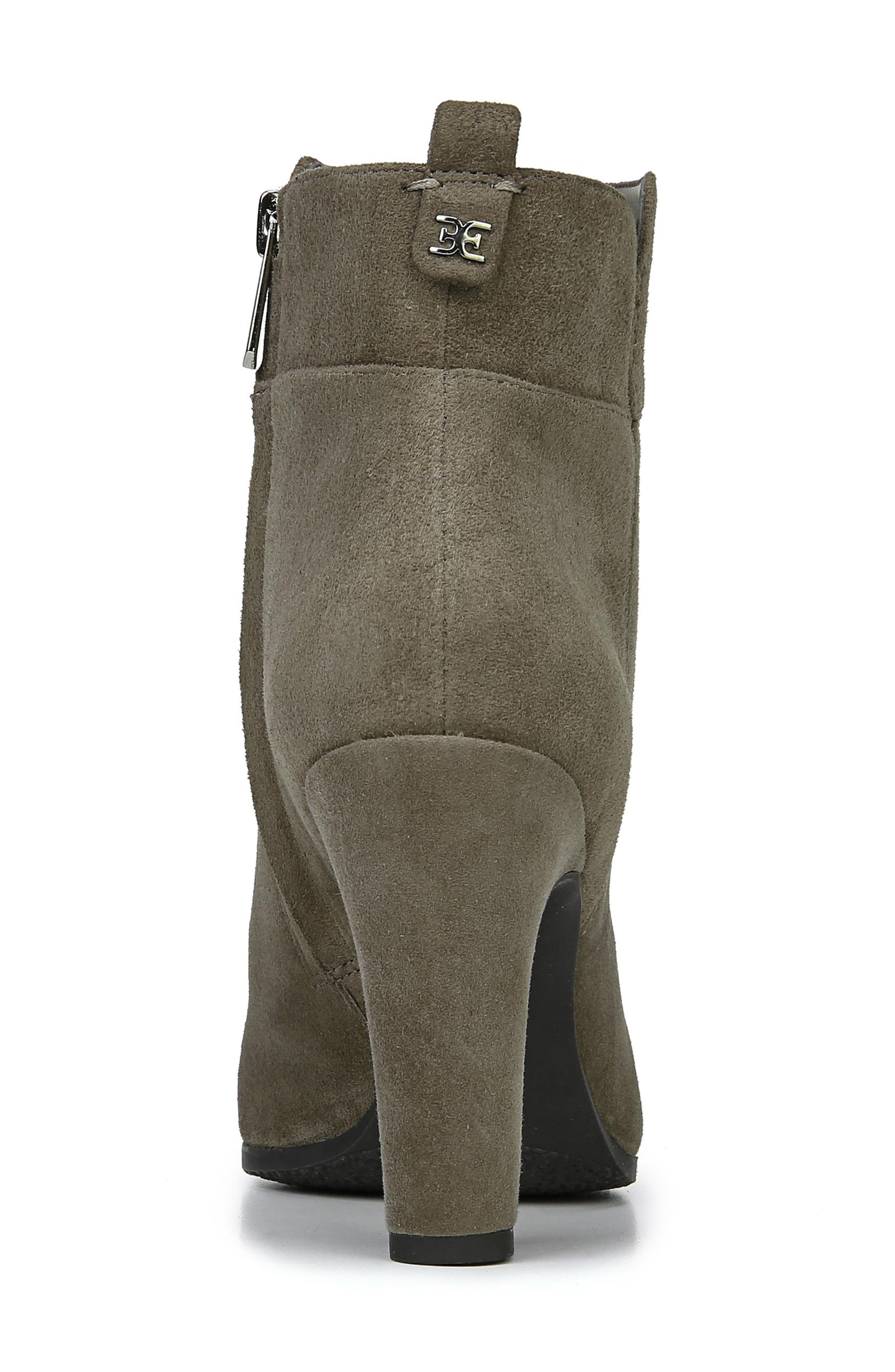 Sianna Bootie,                             Alternate thumbnail 7, color,                             FLINT GREY SUEDE