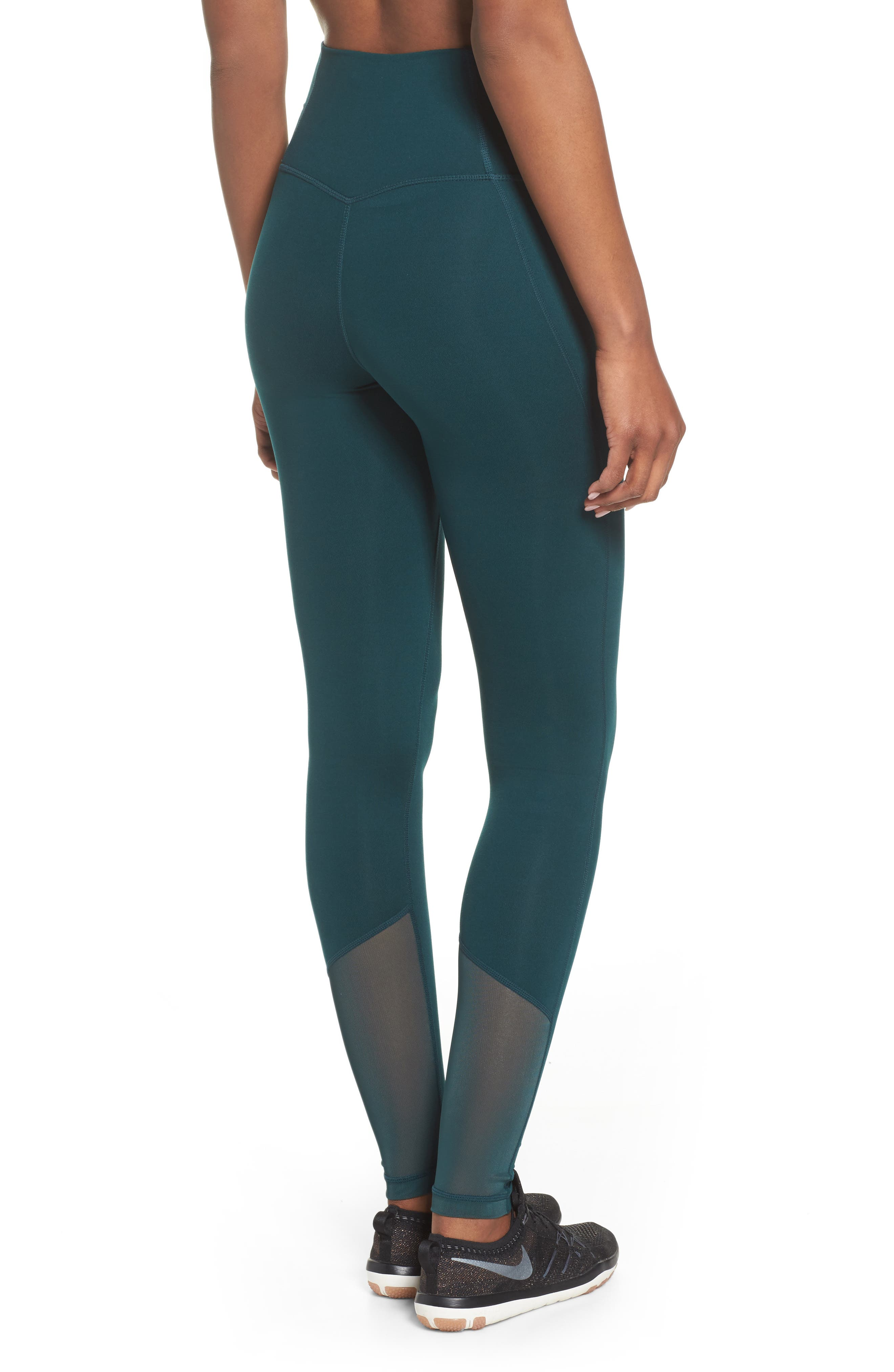 High Waist Asana Light Leggings,                             Alternate thumbnail 4, color,