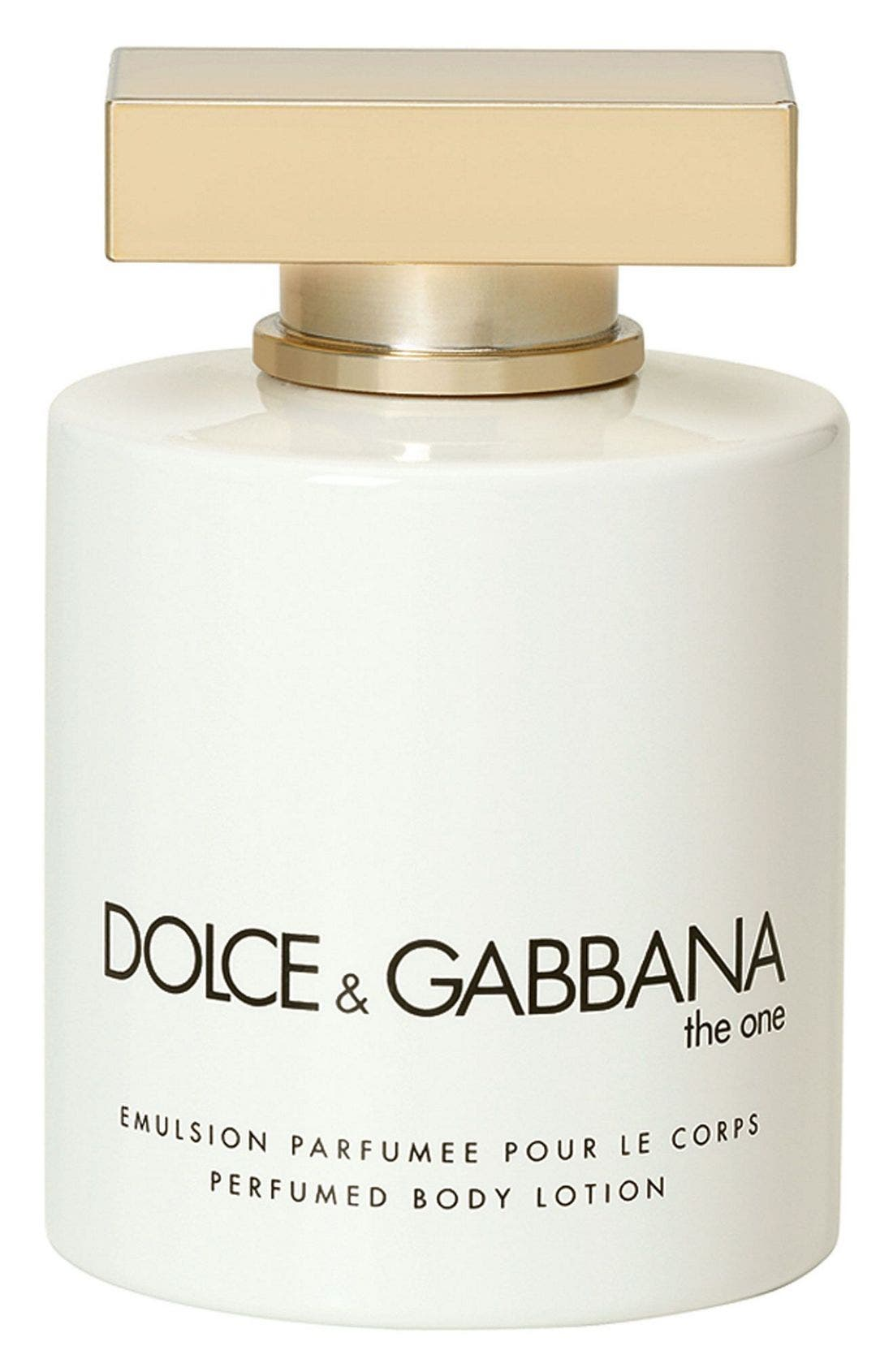 Dolce&Gabbana Beauty 'The One' Body Lotion,                             Main thumbnail 1, color,                             NO COLOR