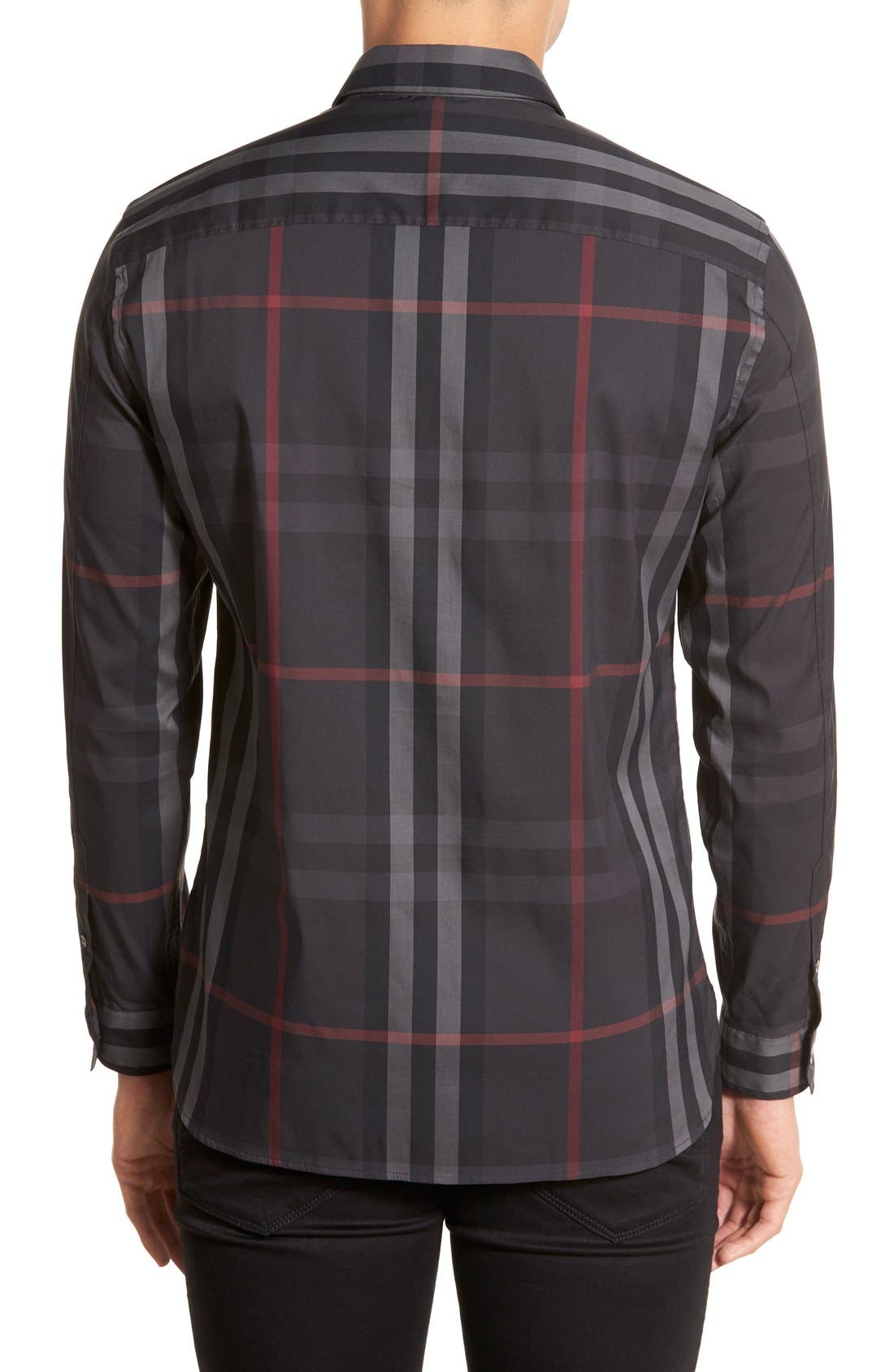 Nelson Check Sport Shirt,                             Alternate thumbnail 56, color,