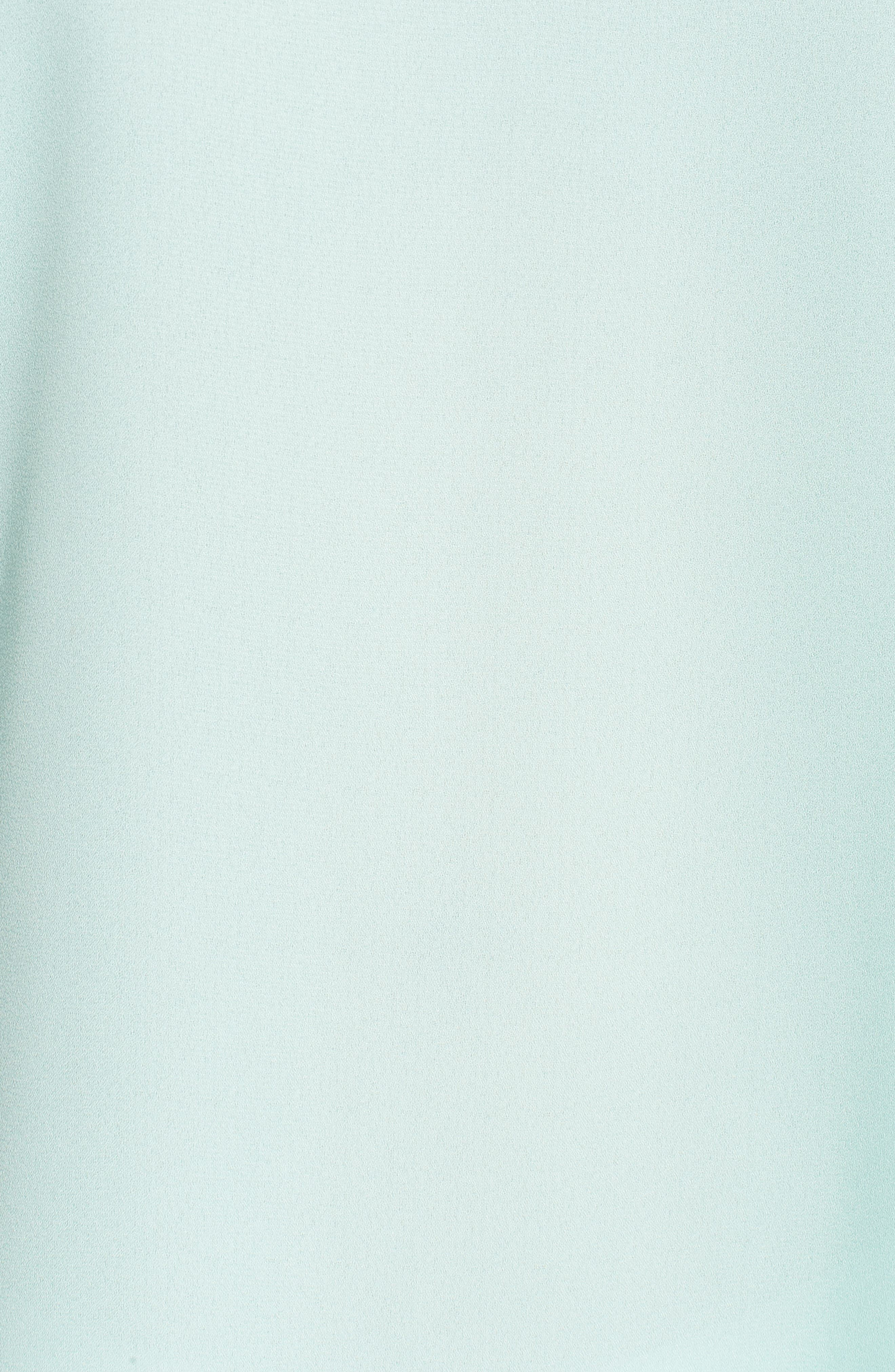 Ruffle Sleeve V-Neck Blouse,                             Alternate thumbnail 5, color,                             431