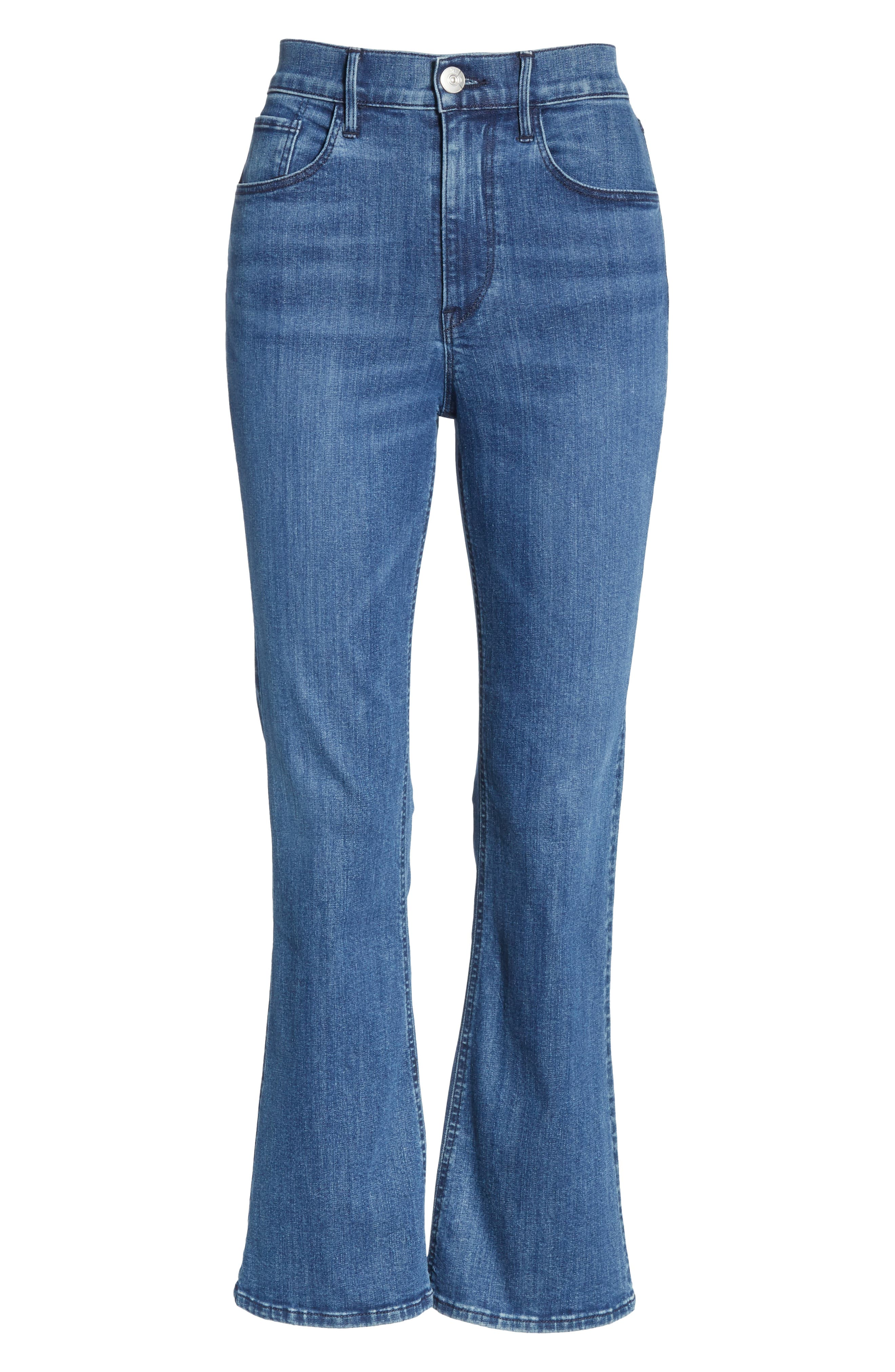 Crop Bootcut Jeans,                             Alternate thumbnail 7, color,                             ADRIANA
