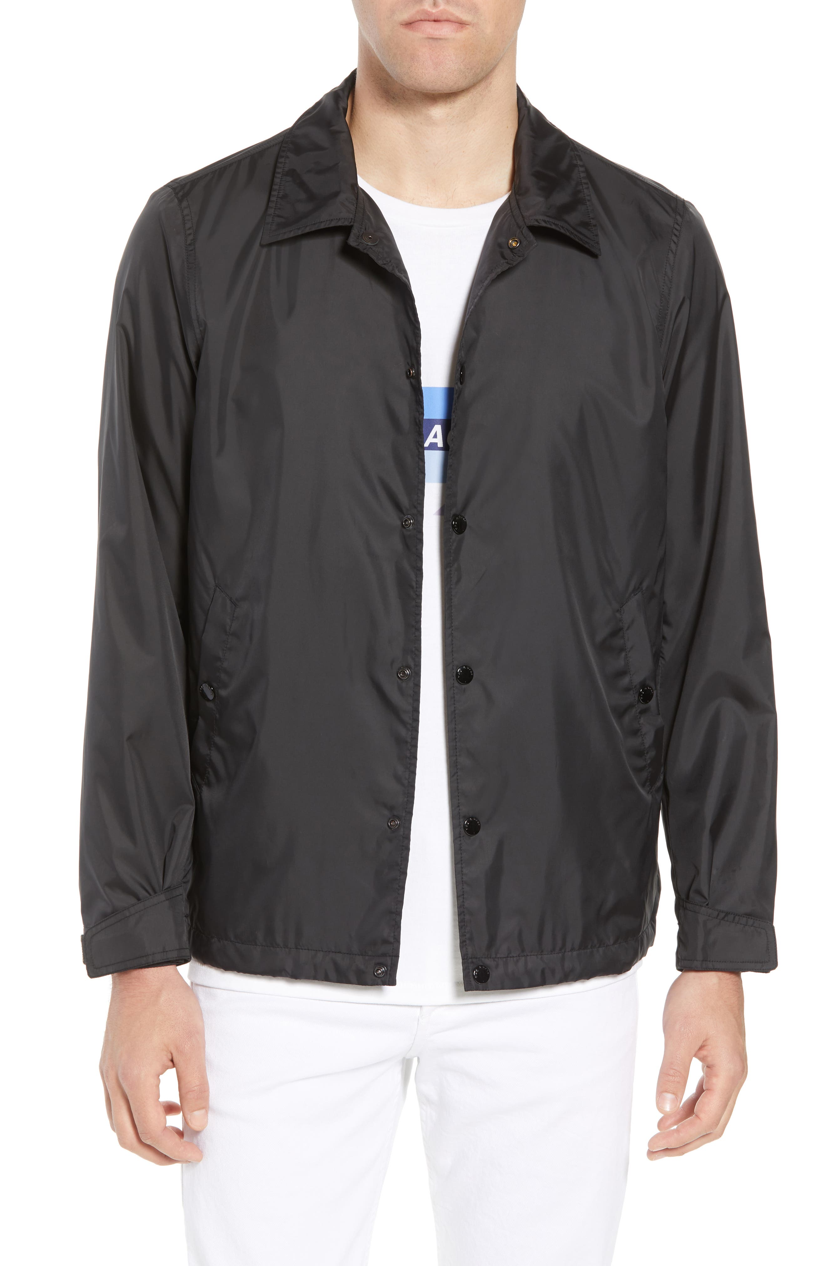 RAG & BONE Coaches Jacket, Main, color, 001