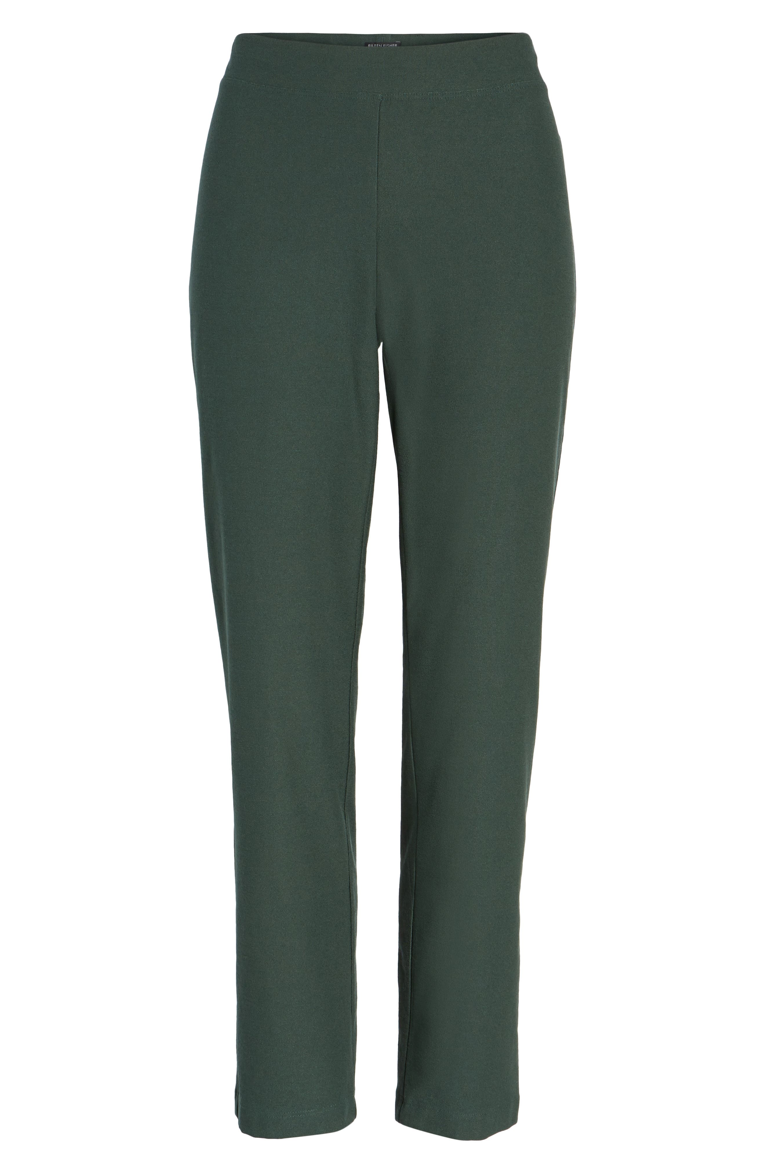 Stretch Crepe Slim Ankle Pants,                             Alternate thumbnail 123, color,