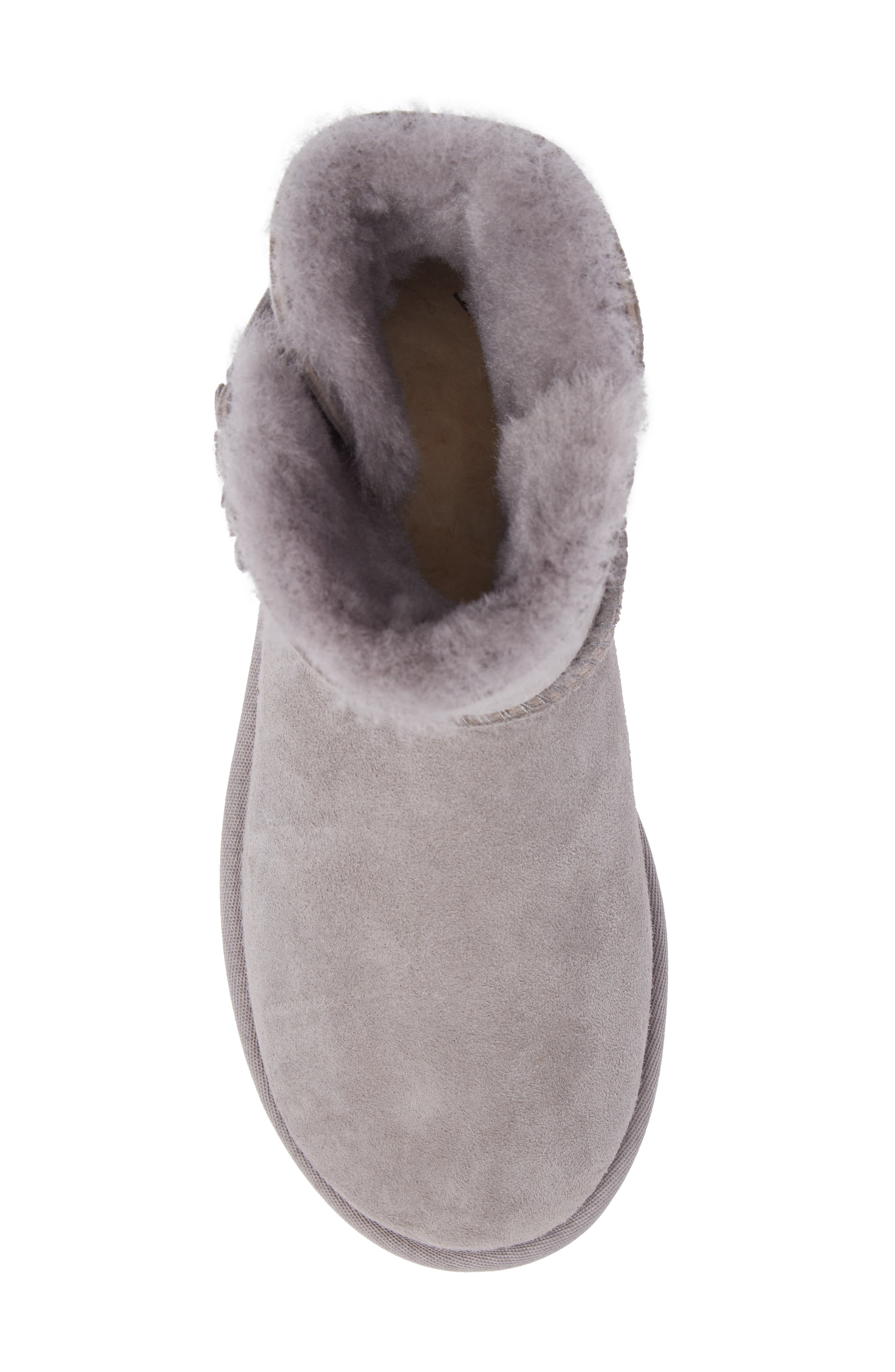 Bailey Petal Genuine Shearling Lined Mini Boot,                             Alternate thumbnail 14, color,