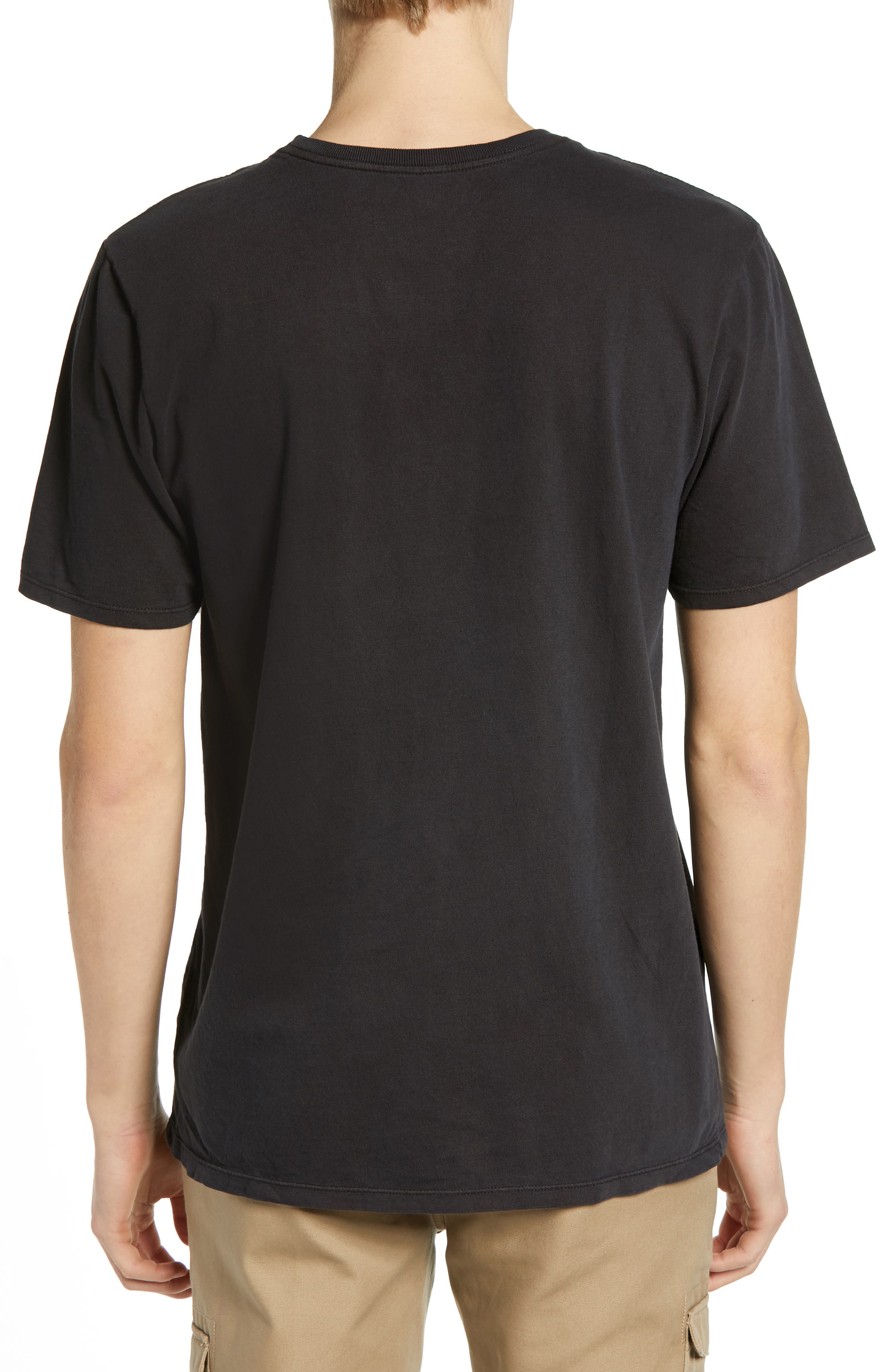 Surf Graphic T-Shirt,                             Alternate thumbnail 2, color,                             ANTHRACITE