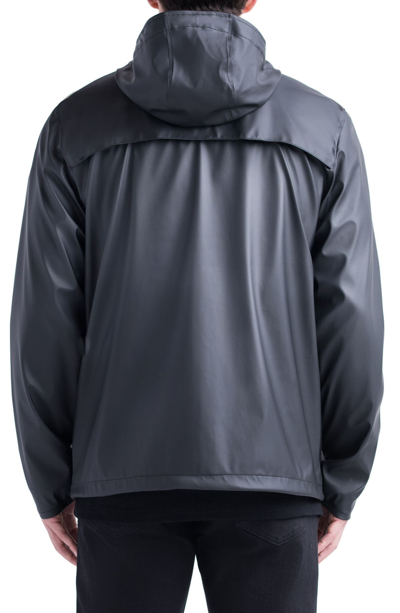 Forecast Hooded Coaches Jacket,                             Alternate thumbnail 9, color,