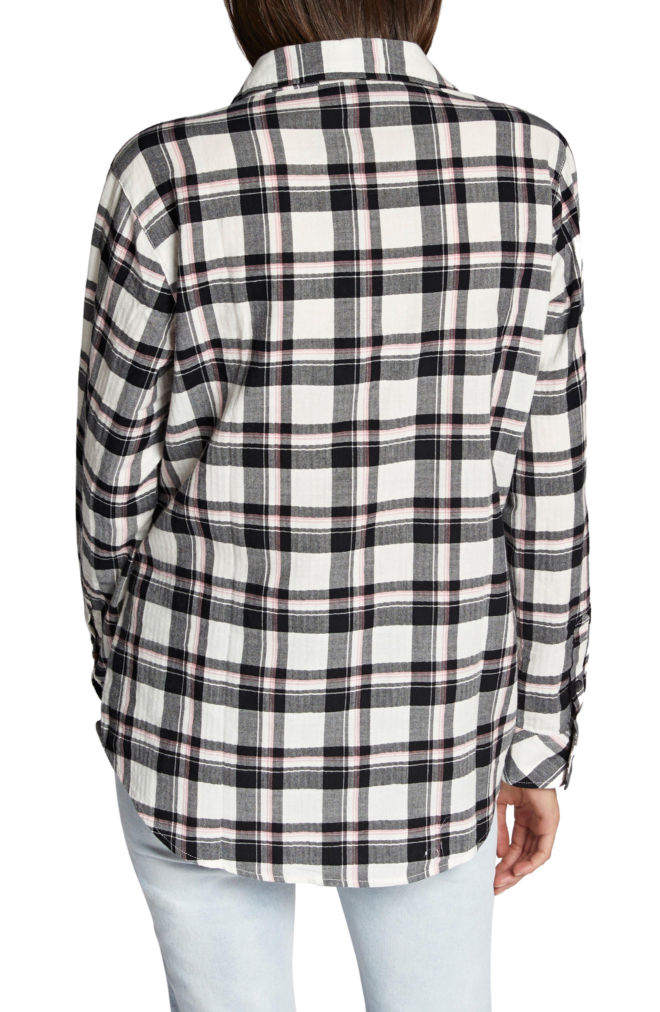 Boyfriend for Life Shirt,                             Alternate thumbnail 2, color,                             FIZZ PLAID
