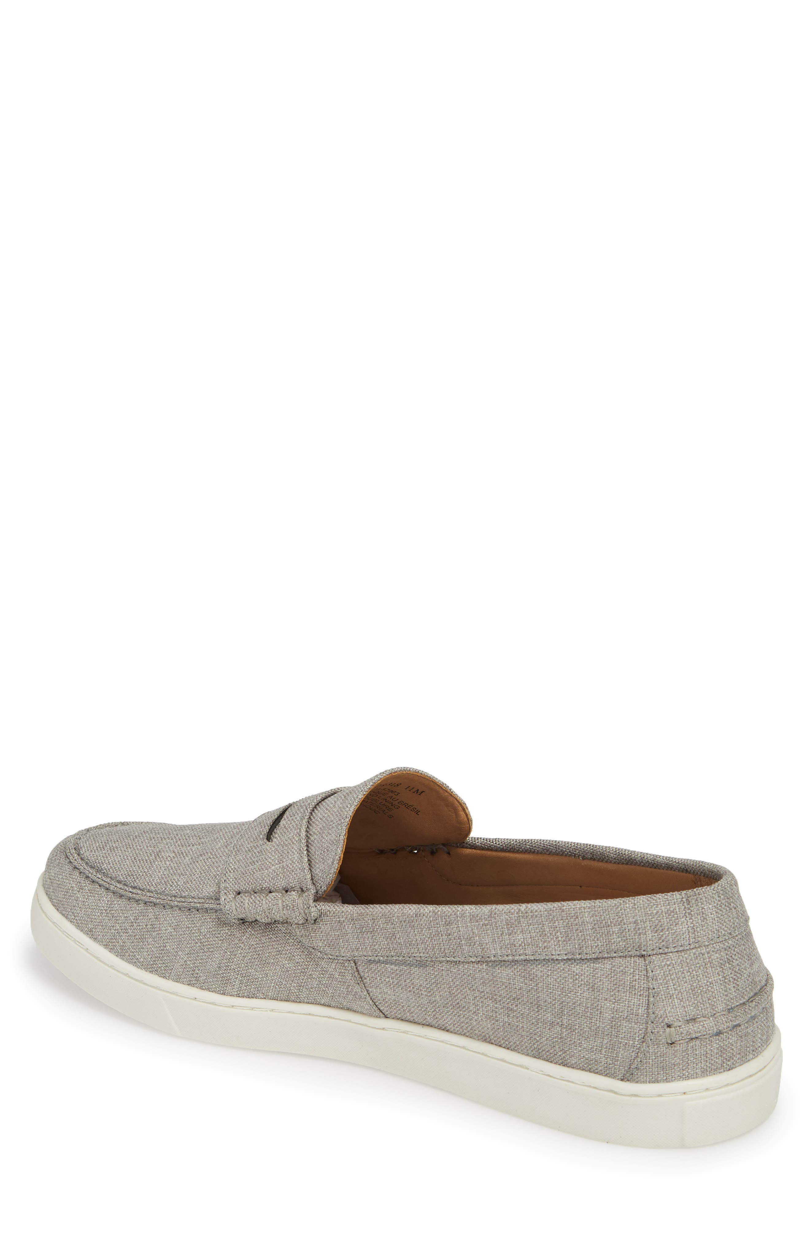 Chelan Penny Loafer,                             Alternate thumbnail 2, color,                             GREY CANVAS