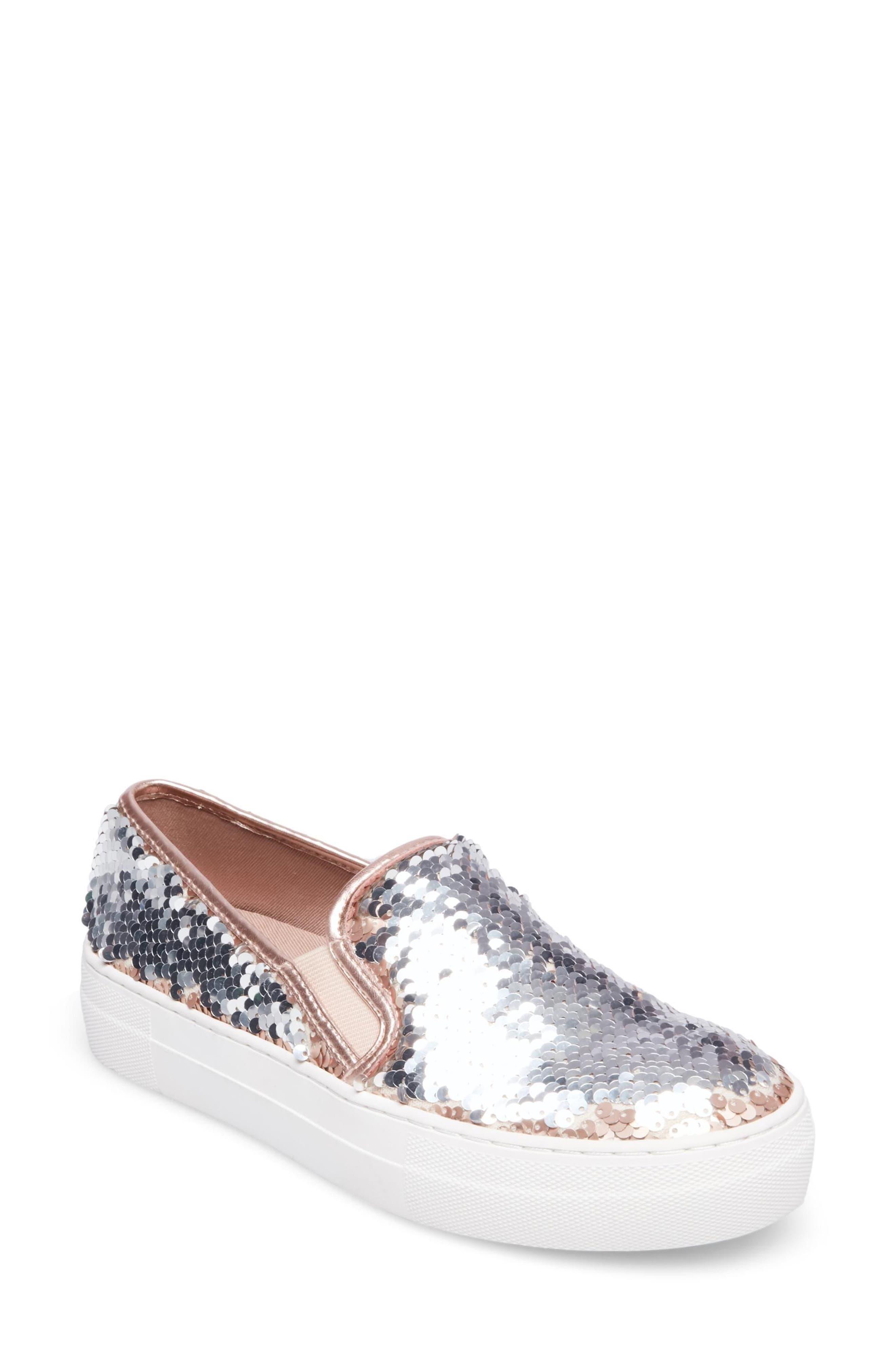 Gills Sequined Slip-On Platform Sneaker,                             Main thumbnail 2, color,