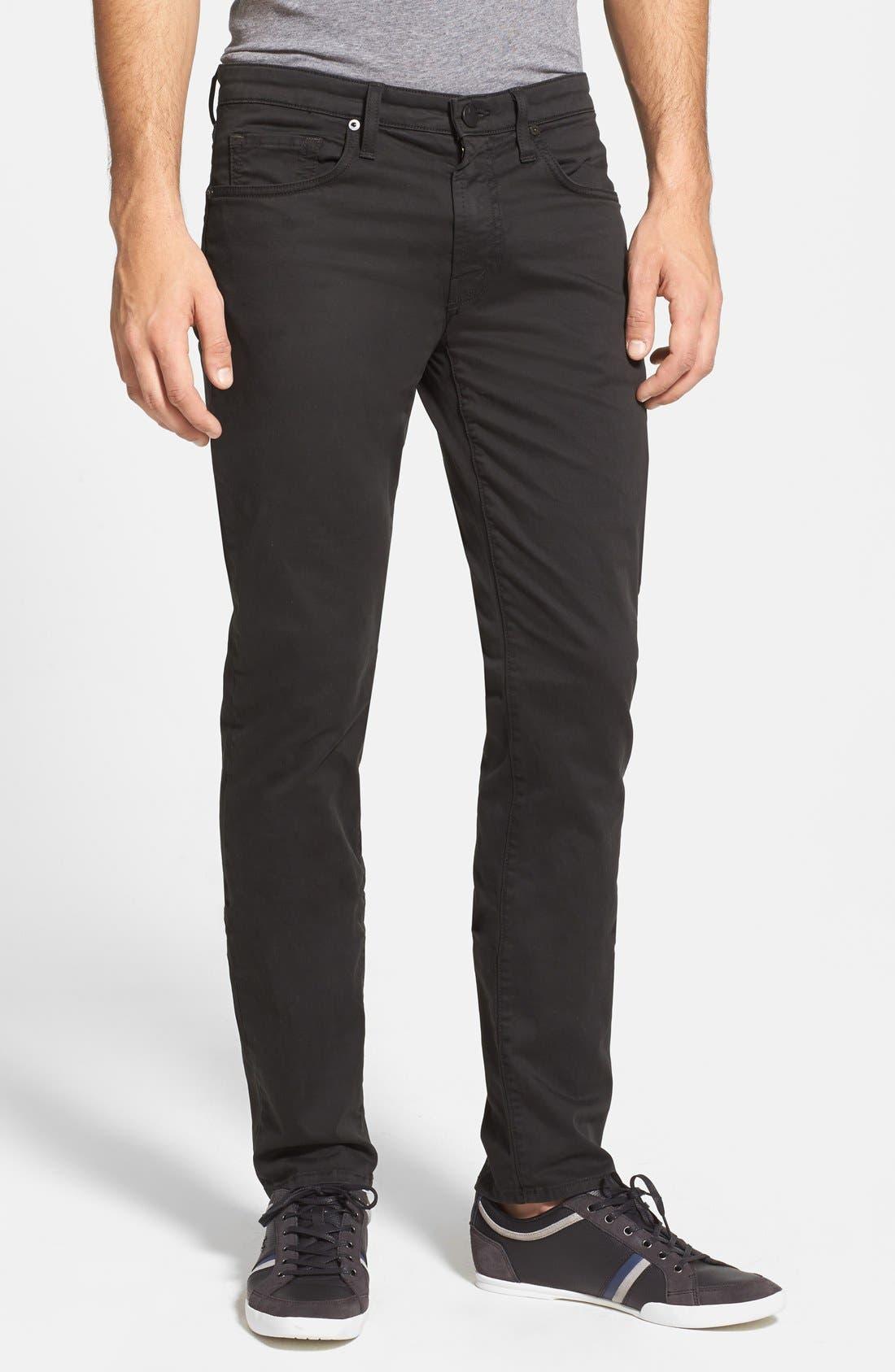 'Kane' Slim Fit Cotton Twill Pants,                             Main thumbnail 14, color,