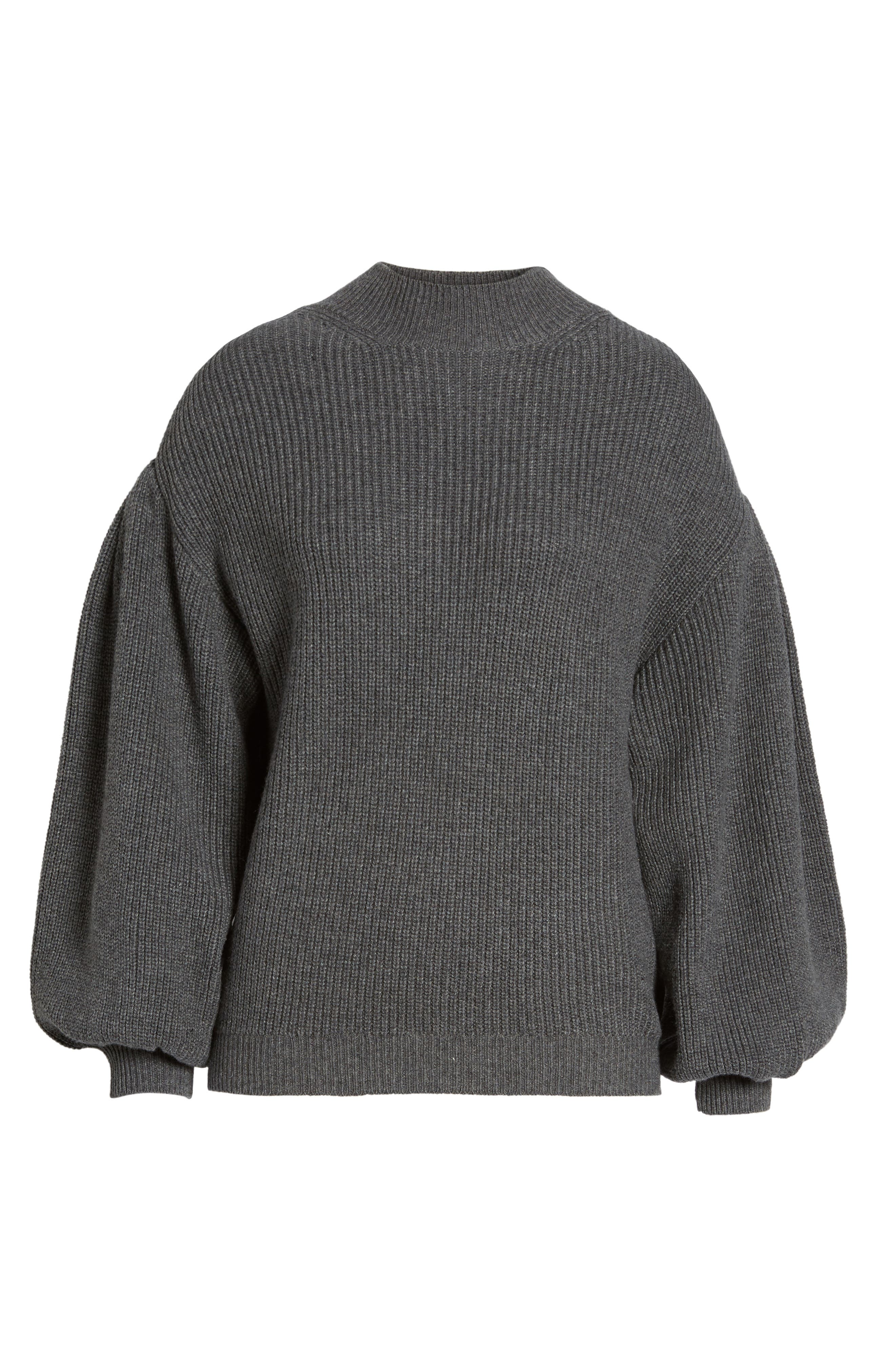 Blouson Sleeve Sweater,                             Alternate thumbnail 6, color,                             031