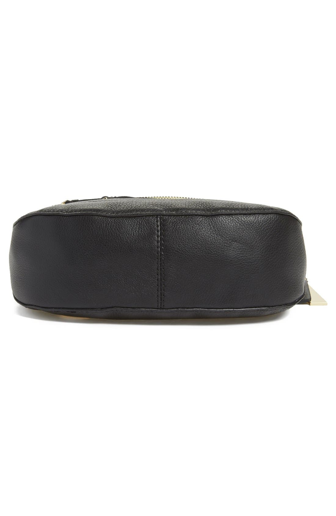 'Tala' Leather Crossbody Bag,                             Alternate thumbnail 9, color,
