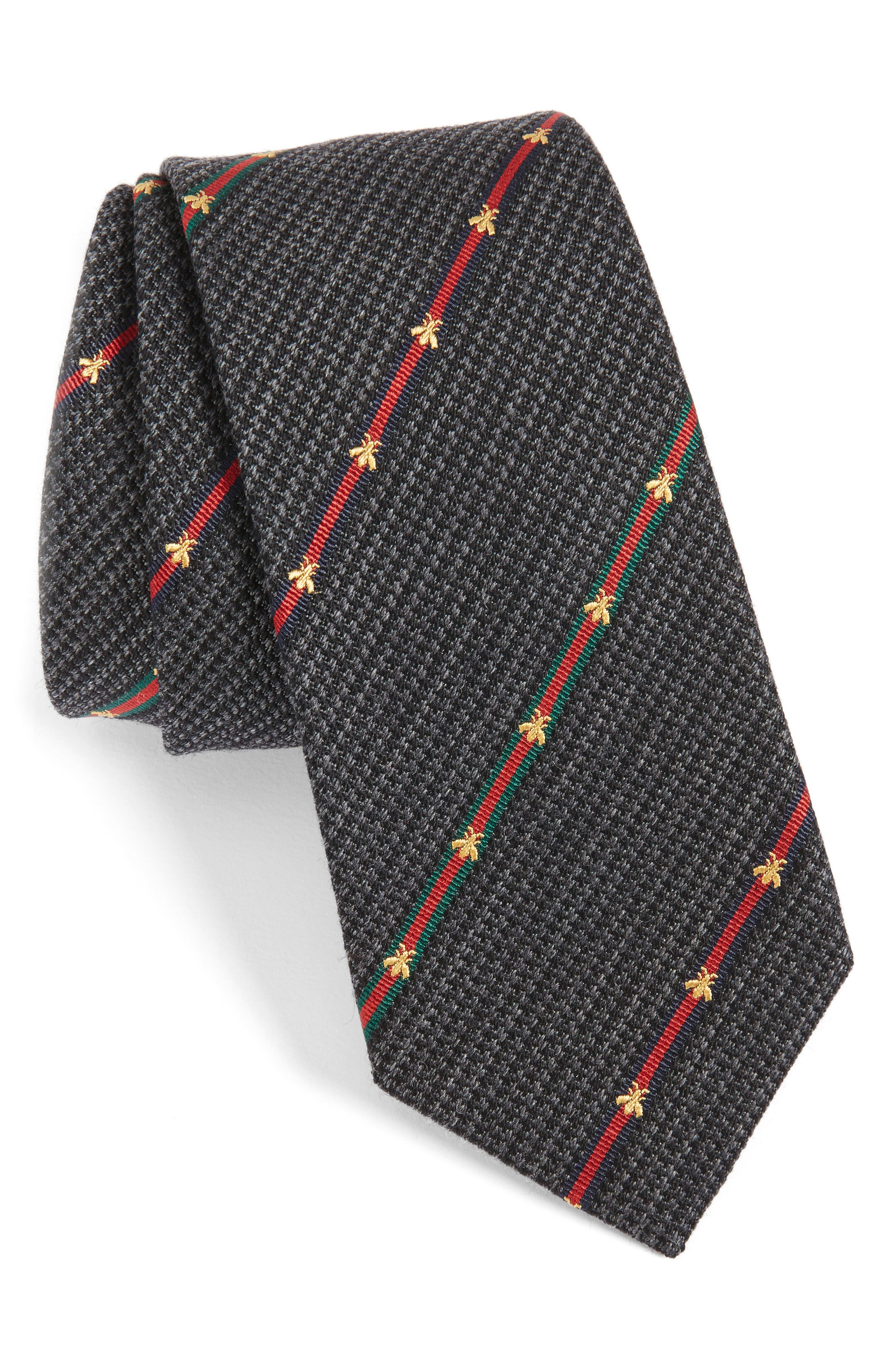 Savanur Silk & Wool Tie,                             Main thumbnail 1, color,                             003
