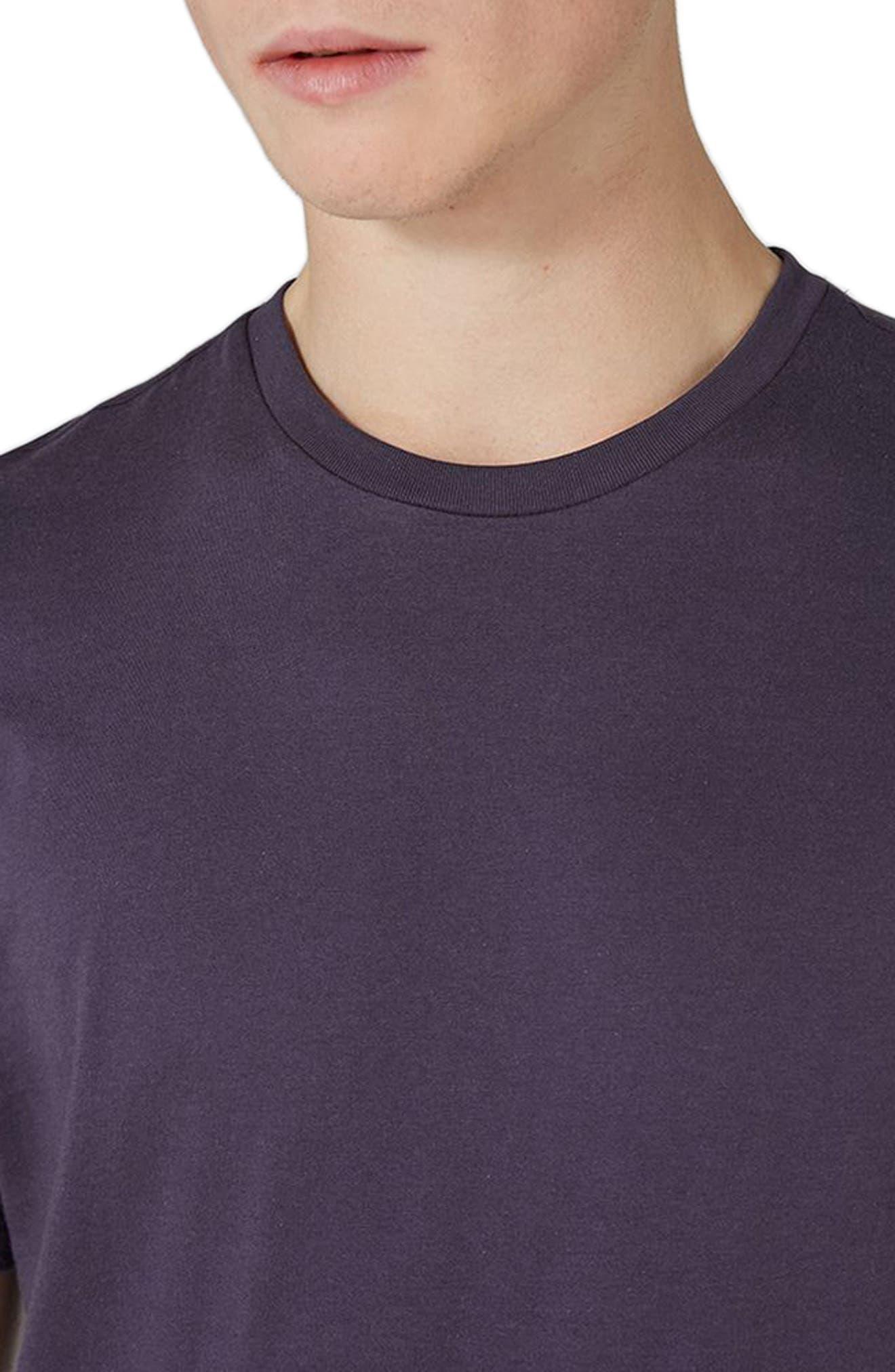 Slim Fit Crewneck T-Shirt,                             Alternate thumbnail 208, color,