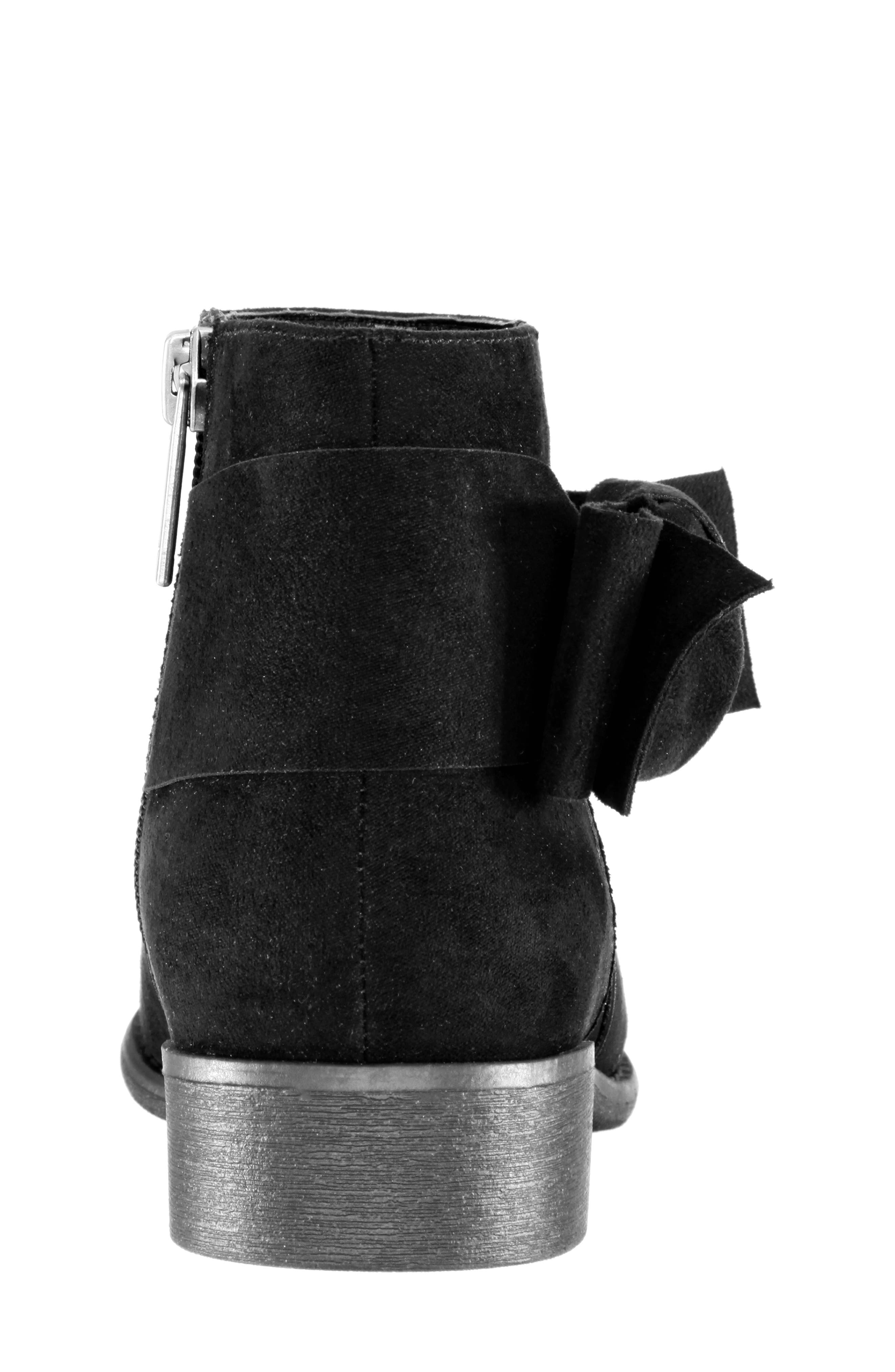 Dollee Bootie,                             Alternate thumbnail 7, color,                             BLACK MICRO SUEDE