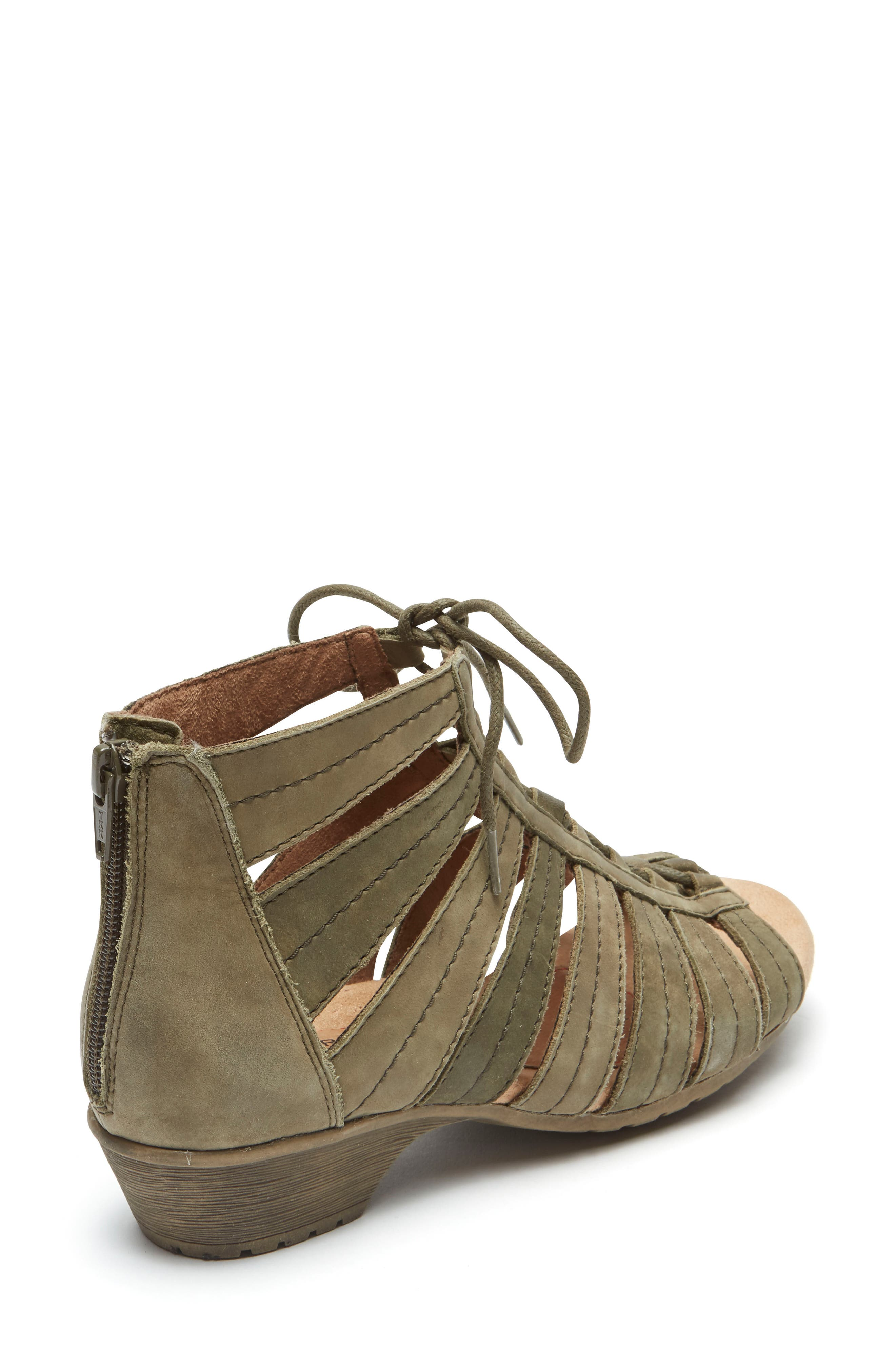 'Gabby' Lace-Up Sandal,                             Alternate thumbnail 10, color,