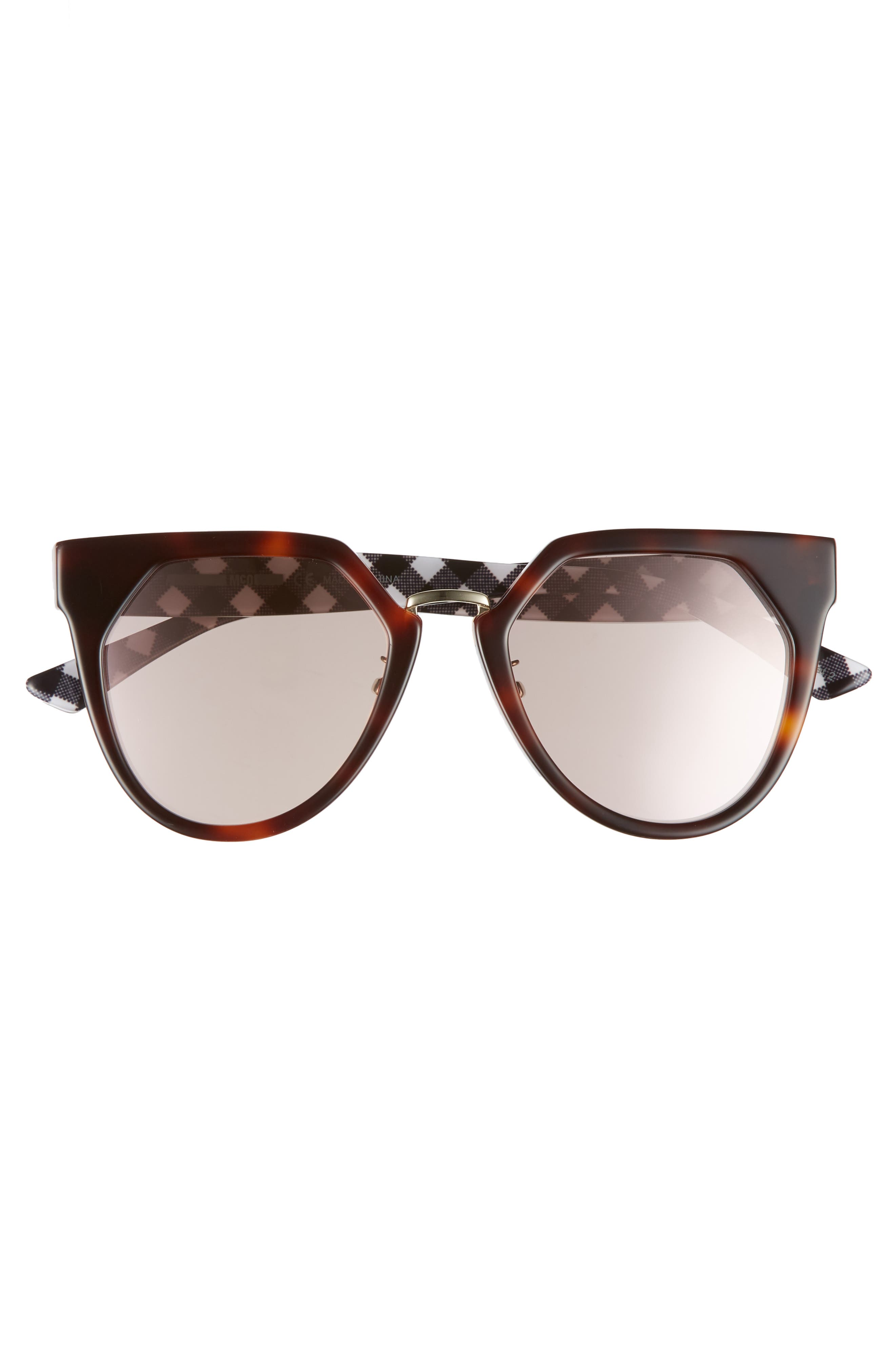 53mm Cat Eye Sunglasses,                             Alternate thumbnail 6, color,