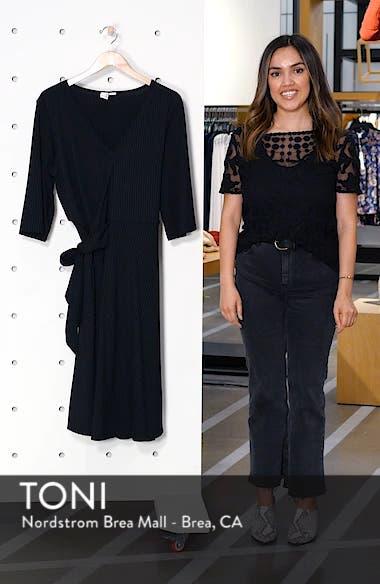 Ribbed Knit Skater Dress, sales video thumbnail