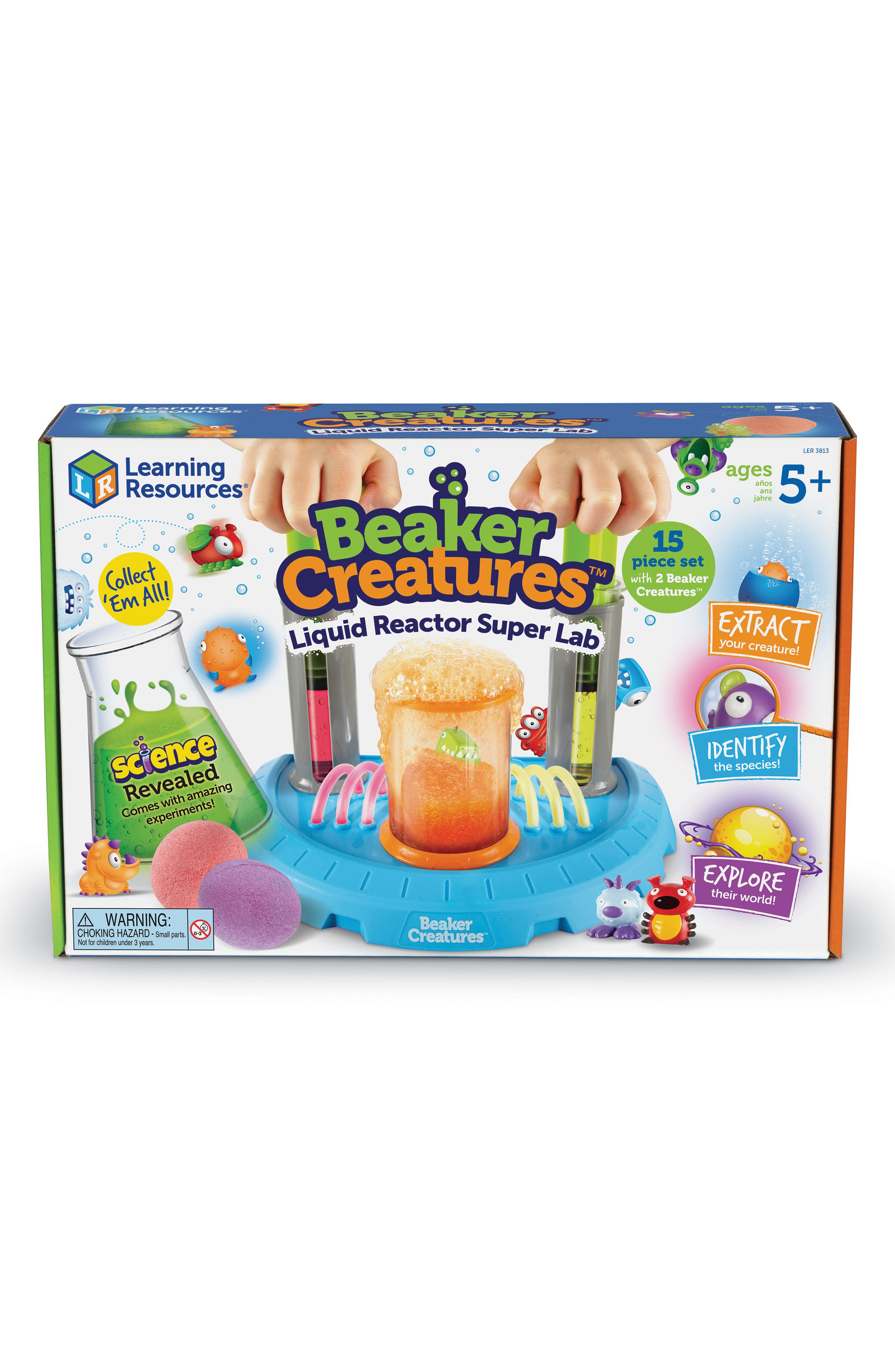 Beaker Creatures<sup>™</sup> Liquid Reactor Super Lab Kit,                             Alternate thumbnail 2, color,                             MULTI