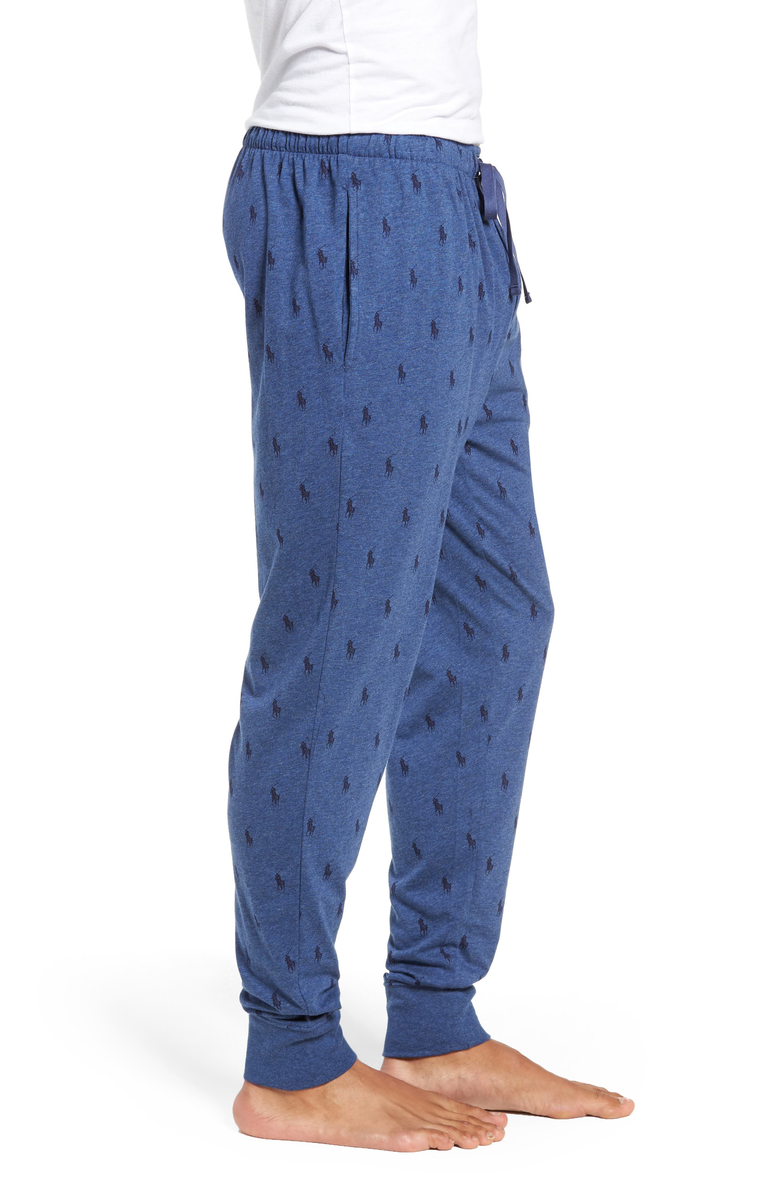 Cotton Pajama Pants,                             Alternate thumbnail 3, color,                             403