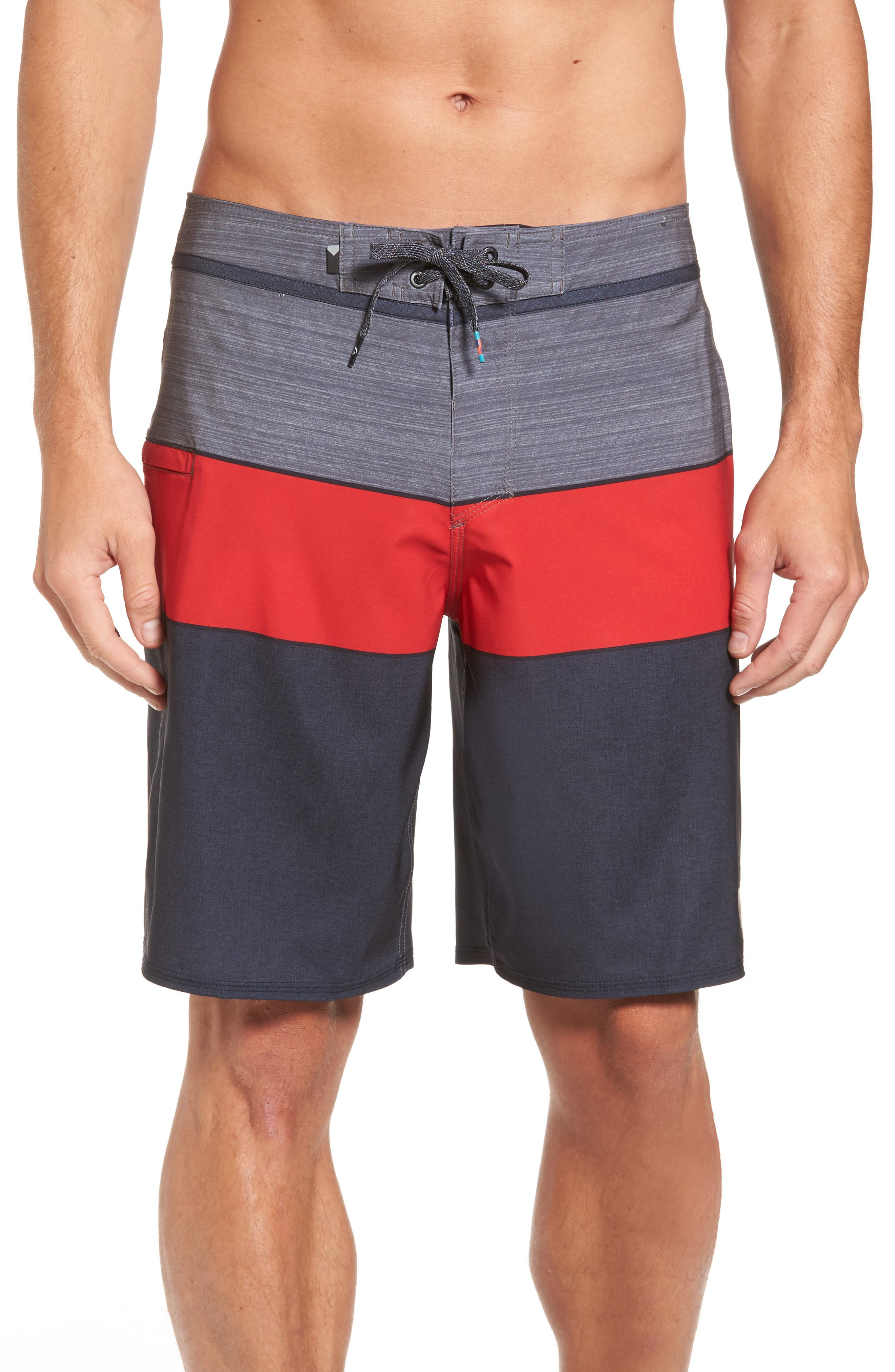 Everyday Blocked Board Shorts,                         Main,                         color, 002