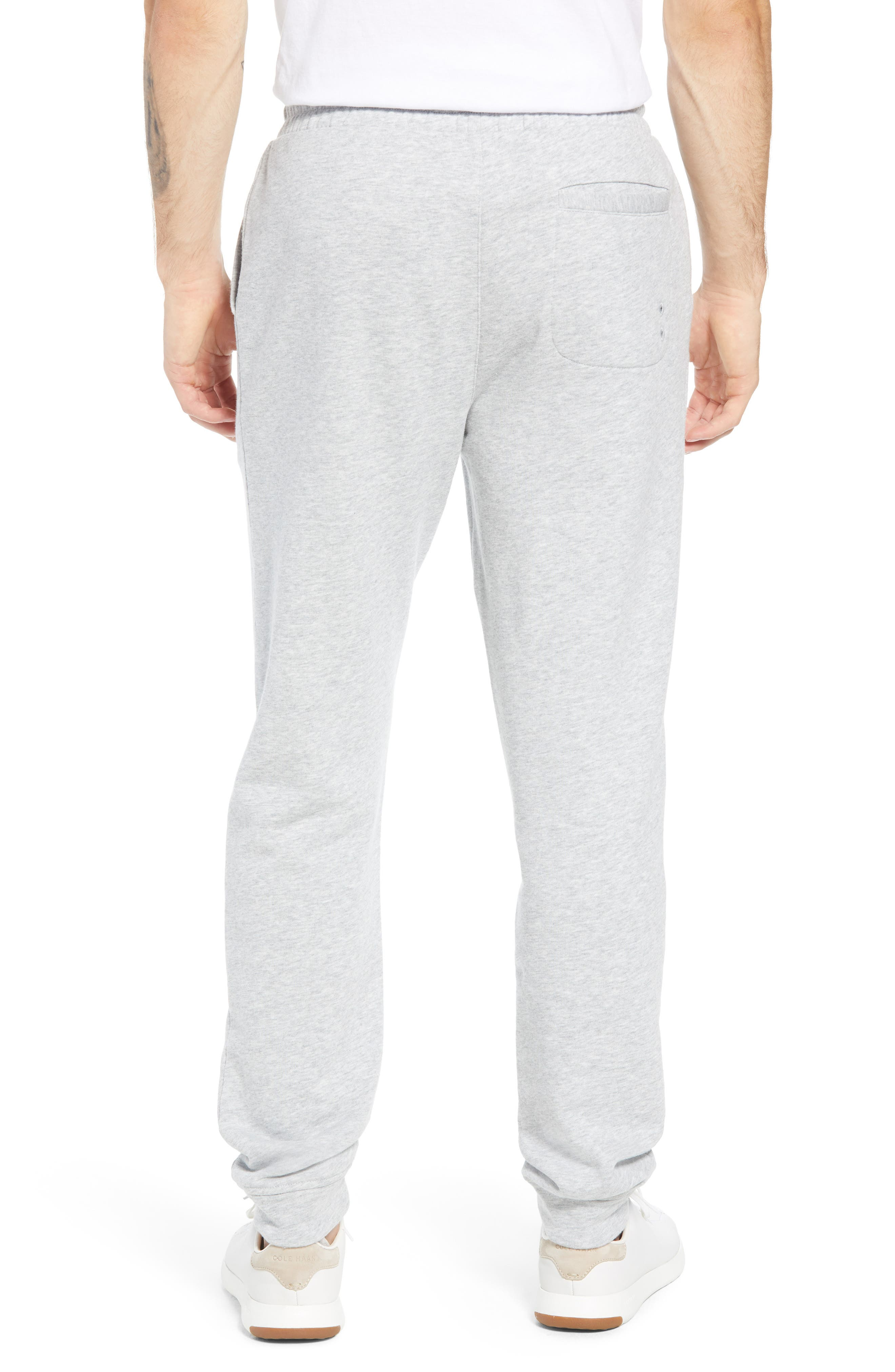 Heritage French Terry Knit Jogger Pants,                             Alternate thumbnail 2, color,                             GRAY HEATHER