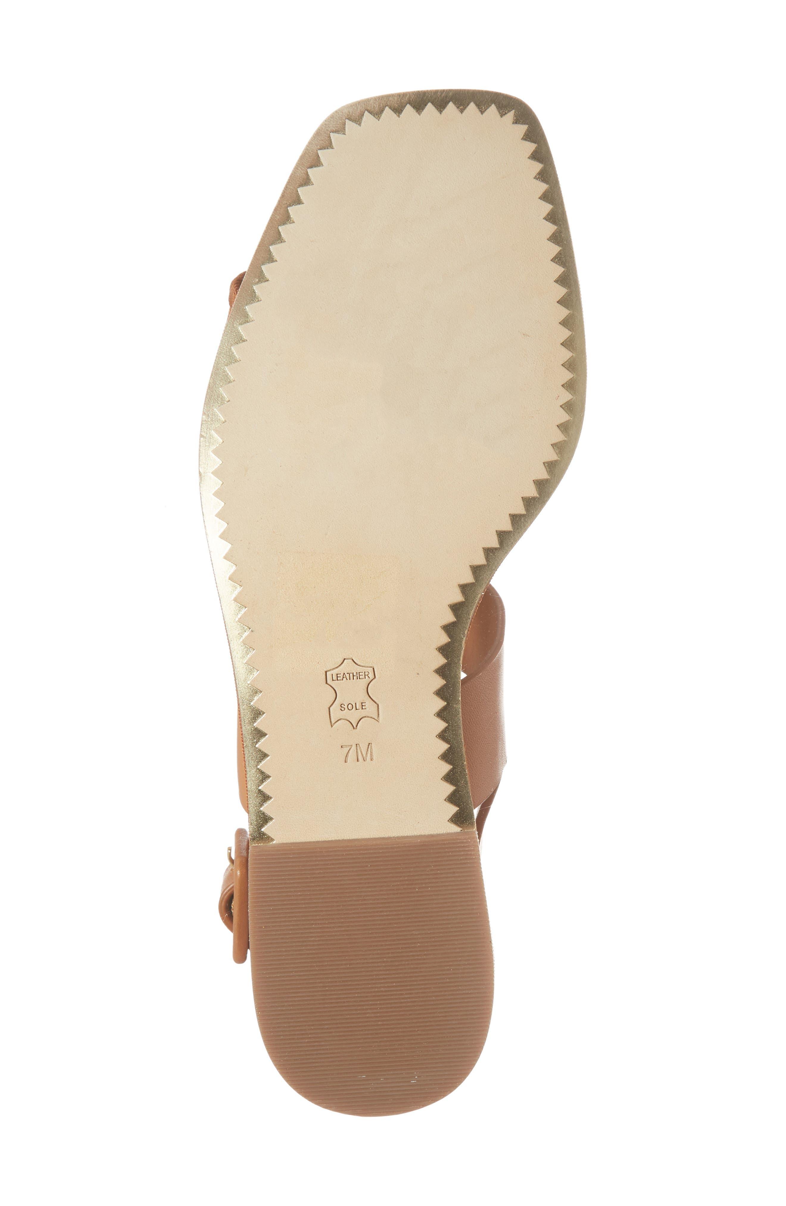 Delaney Embellished Double Strap Sandal,                             Alternate thumbnail 6, color,                             210