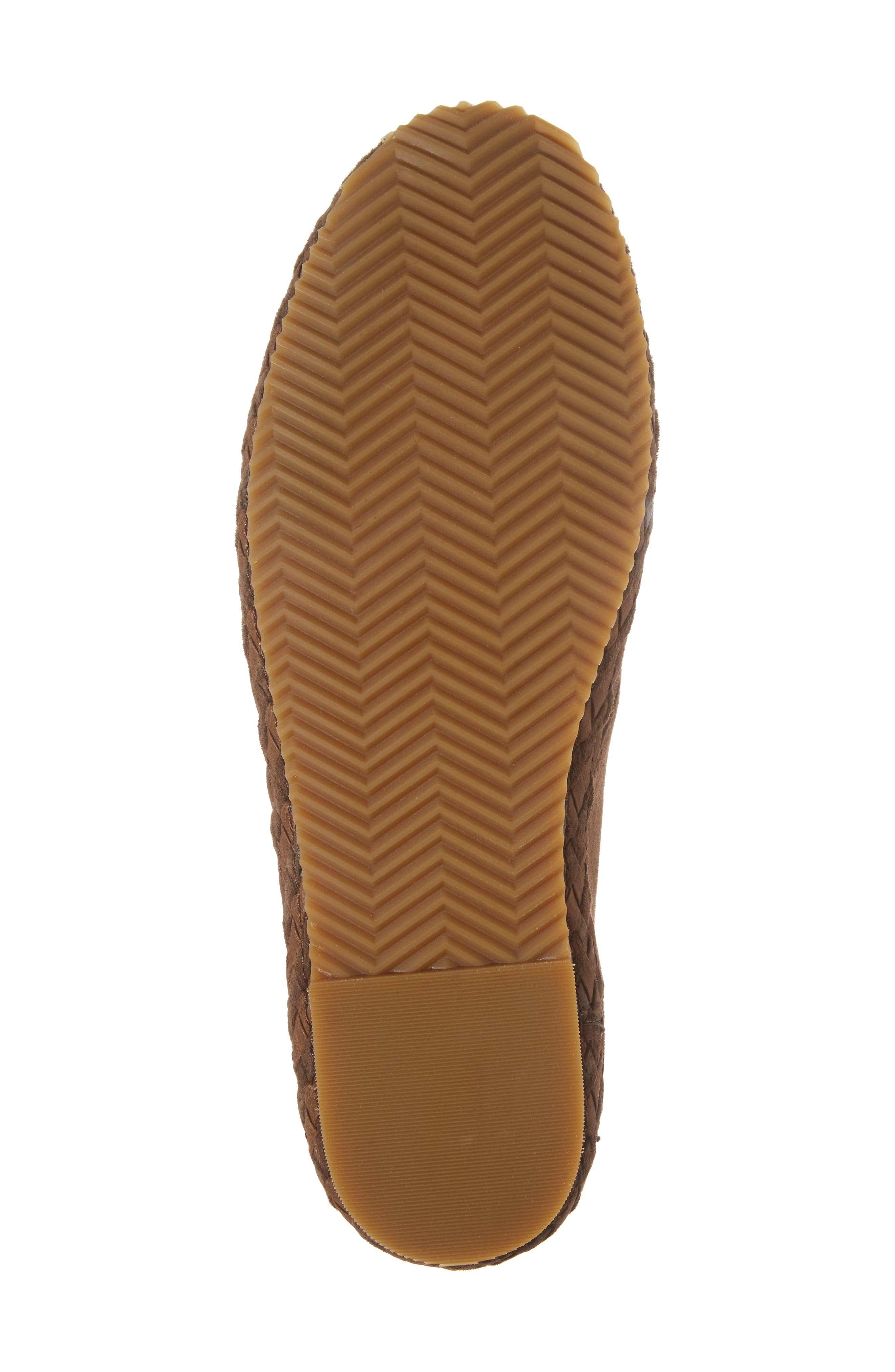 Addison Bootie,                             Alternate thumbnail 6, color,                             BROWN SUEDE