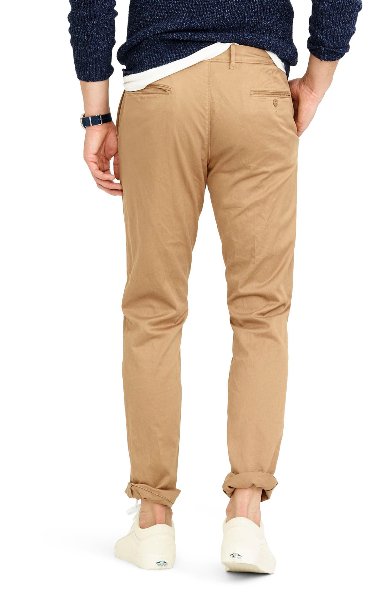 484 Slim Fit Stretch Chino Pants,                             Alternate thumbnail 17, color,