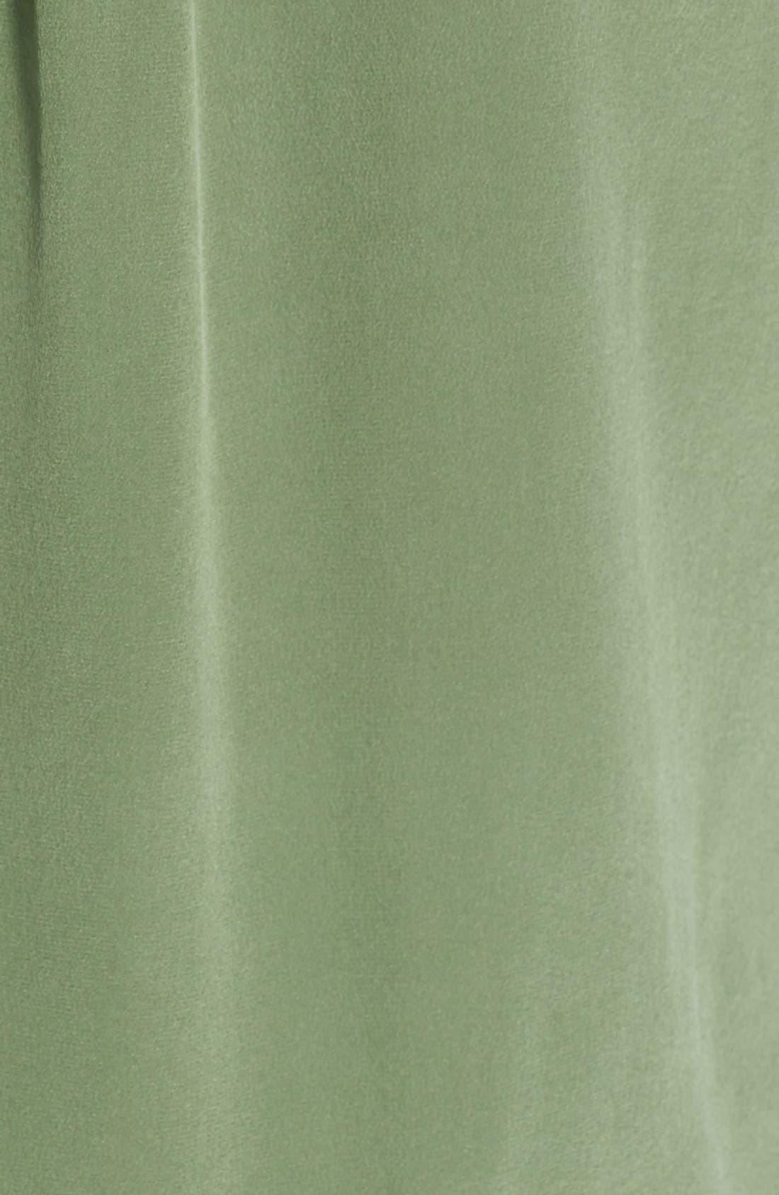 'Slim Signature' Sleeveless Silk Shirt,                             Alternate thumbnail 109, color,
