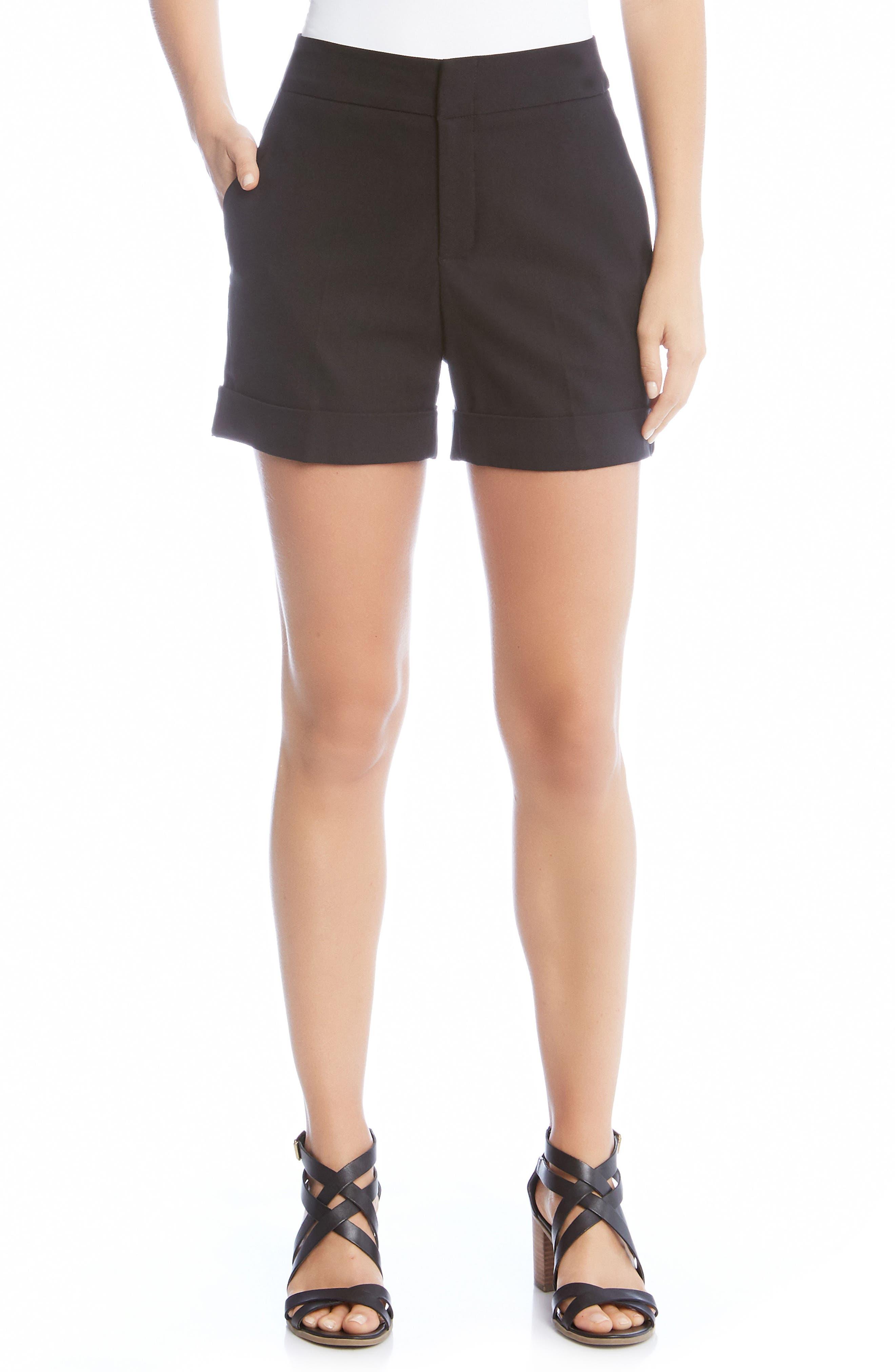 Cuff Shorts,                             Main thumbnail 1, color,                             001