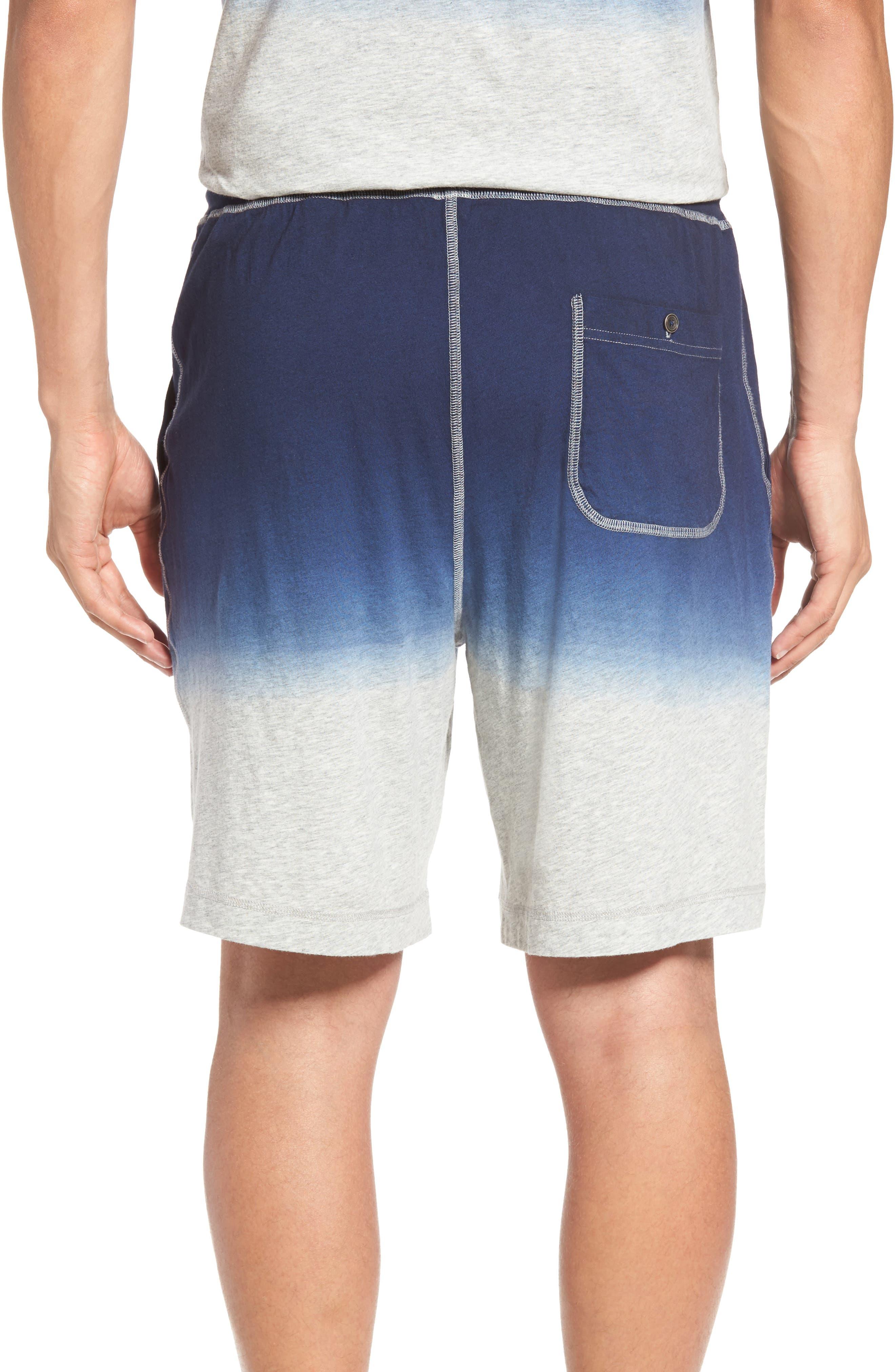 Dip Dye Lounge Shorts,                             Alternate thumbnail 2, color,                             410