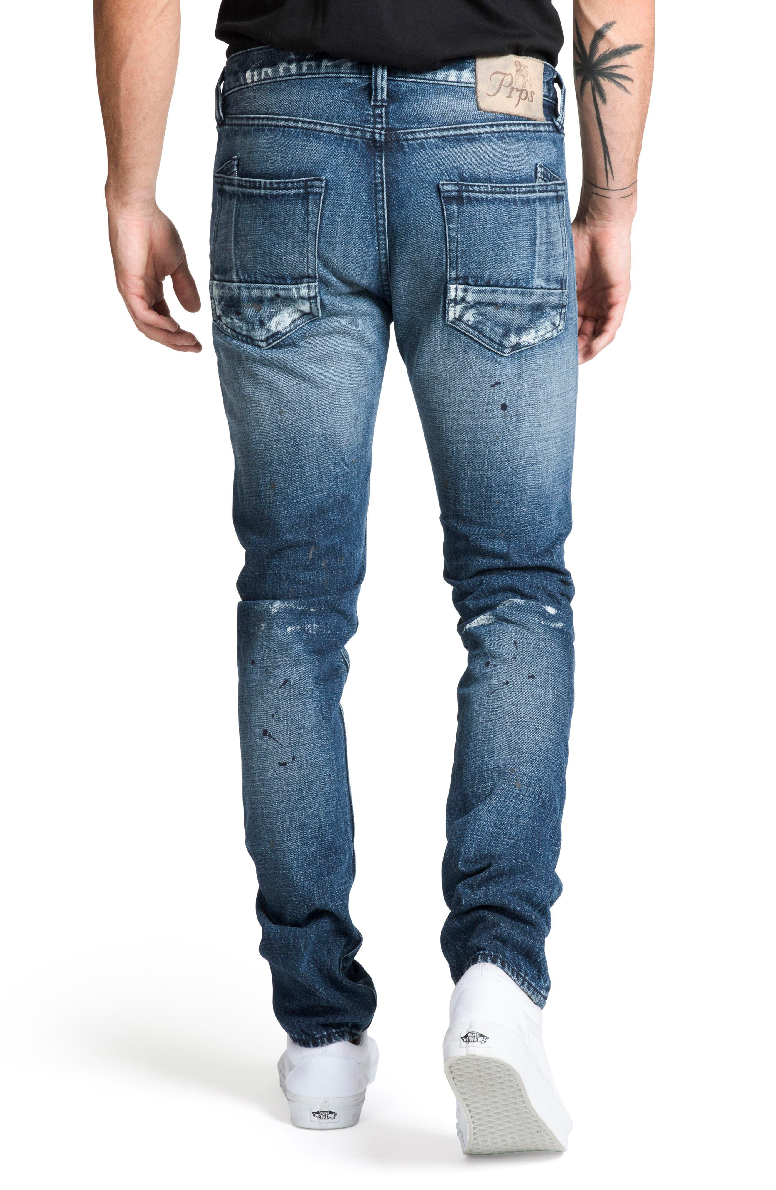 Le Sabre Slim Fit Jeans,                             Alternate thumbnail 2, color,                             PERPETUAL