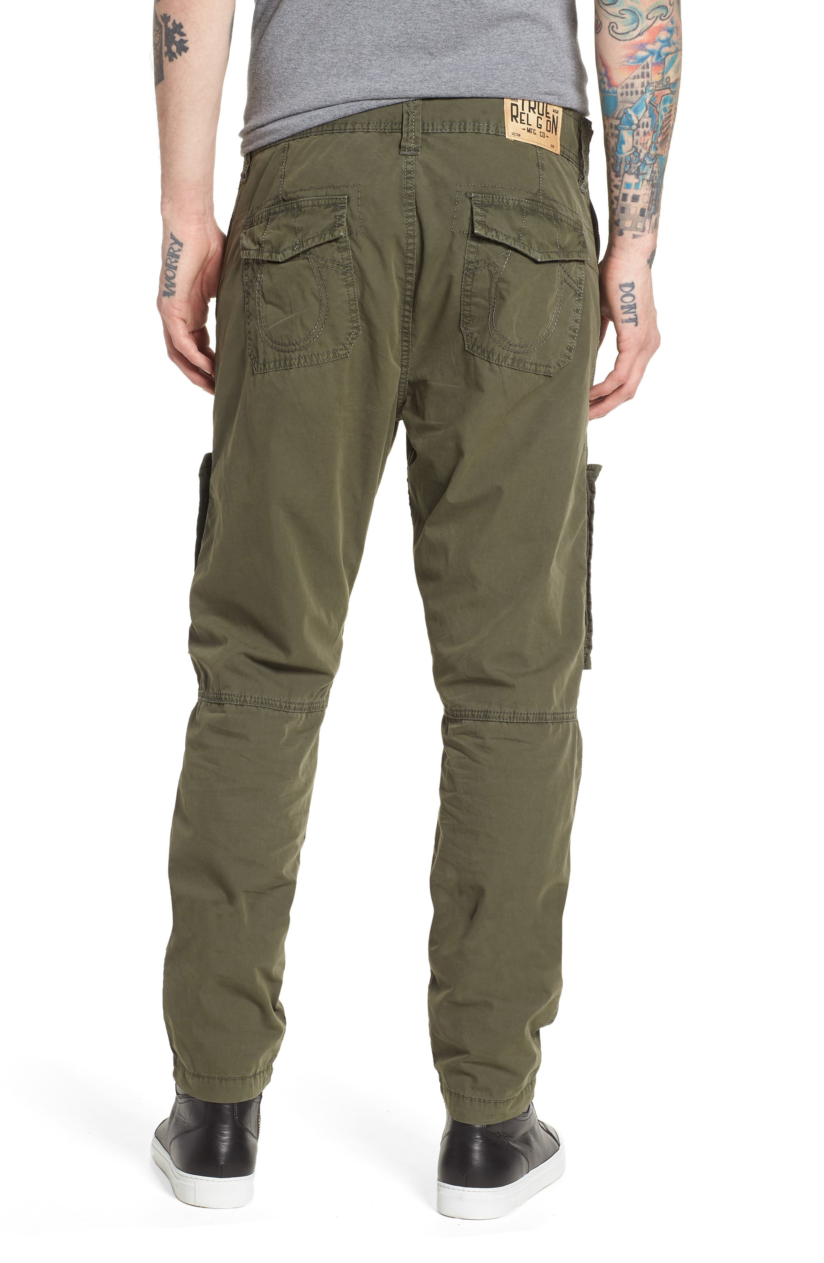 Officer Field Pants,                             Alternate thumbnail 2, color,                             EPJ MILITANT GREEN