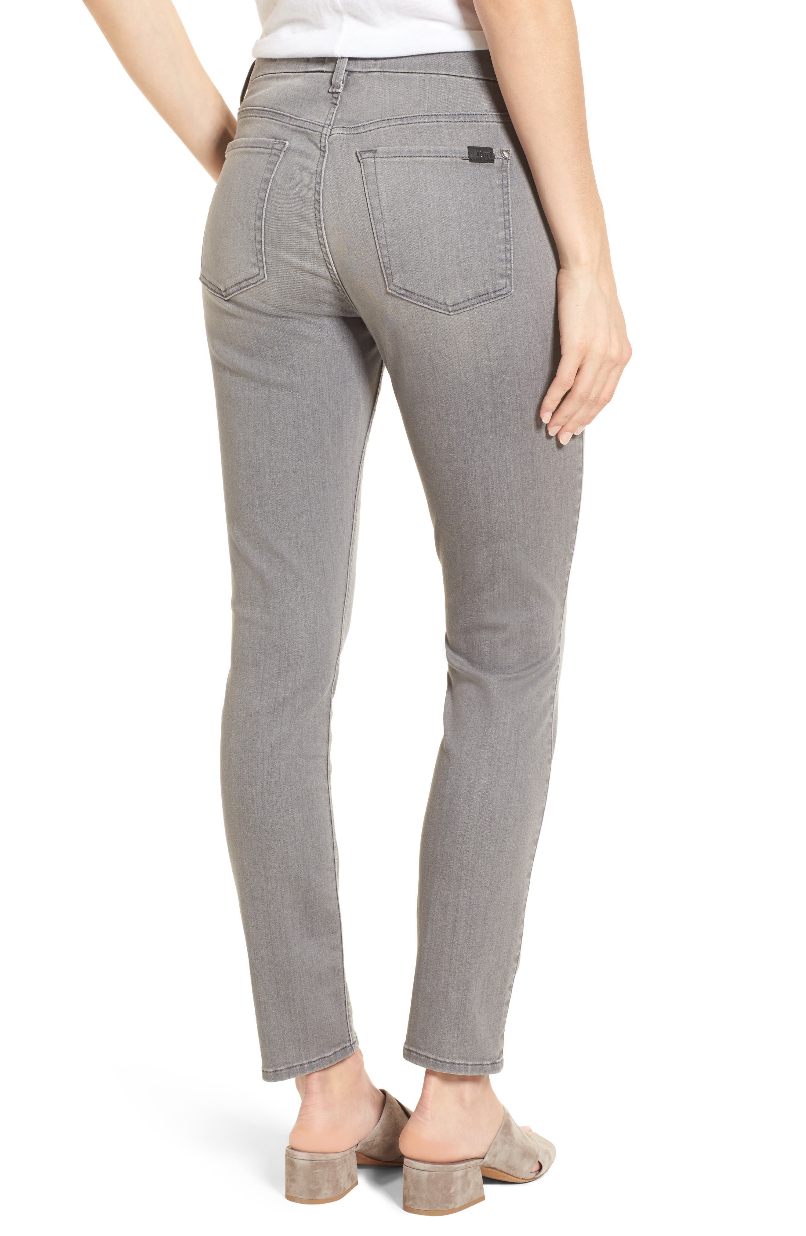 Stretch Ankle Skinny Jeans,                             Alternate thumbnail 2, color,                             022