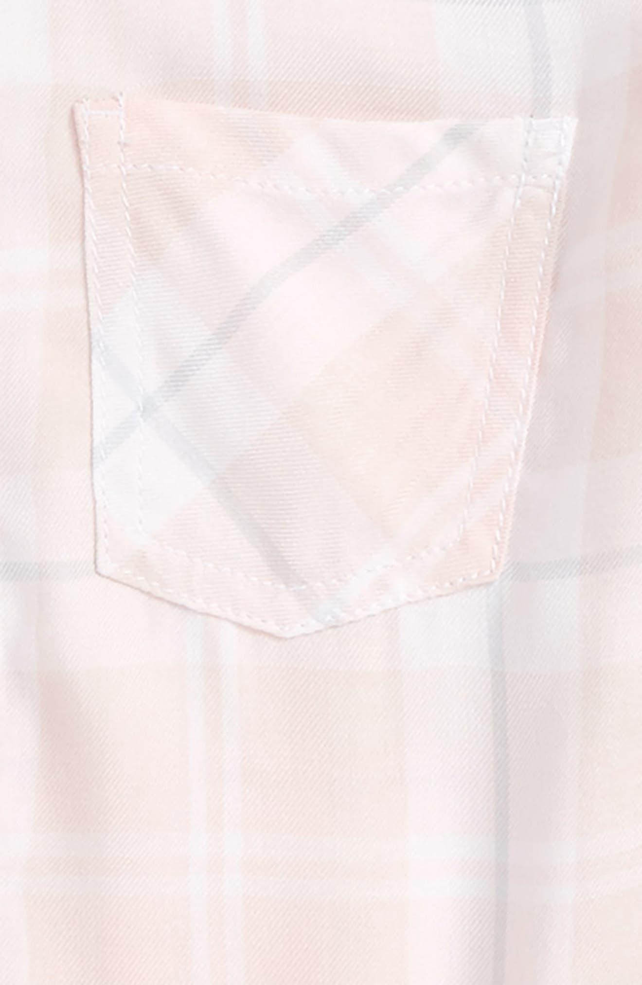 Fire Plaid Woven Shirt,                             Alternate thumbnail 7, color,
