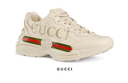 Dad sneakers: designer dad sneaker trend. Balenciaga shoes.
