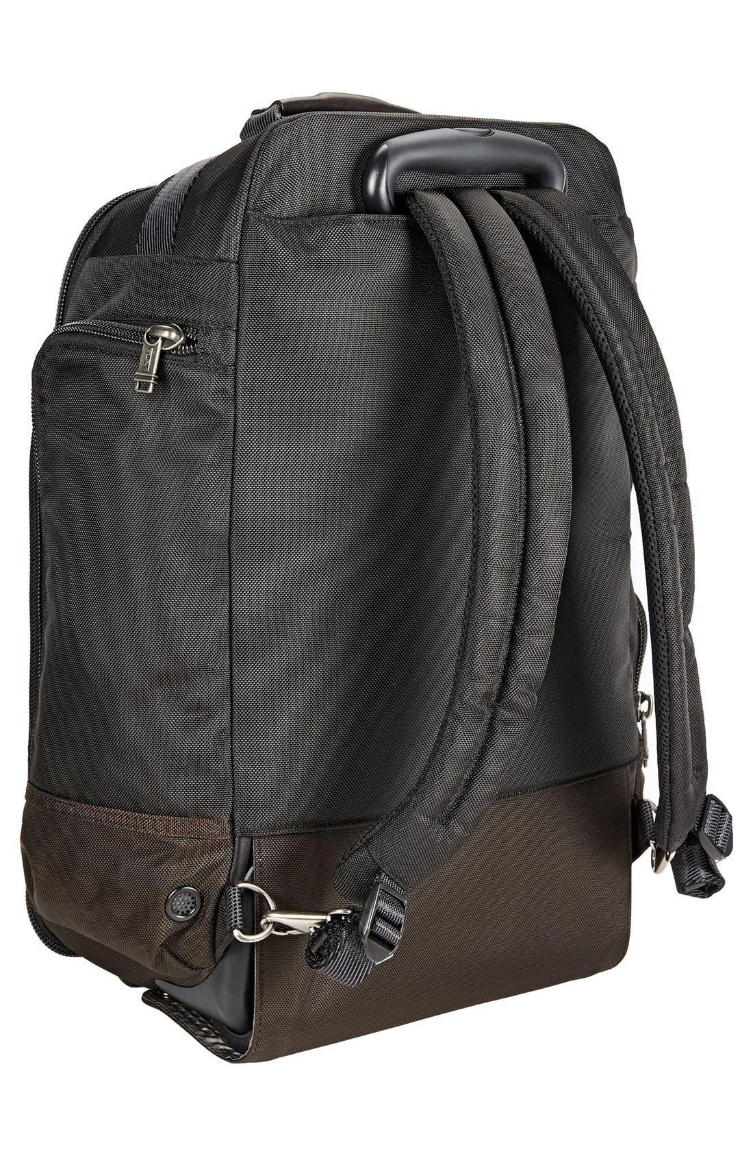 'Alpha Bravo – Peterson' Wheeled Backpack,                             Alternate thumbnail 4, color,                             001