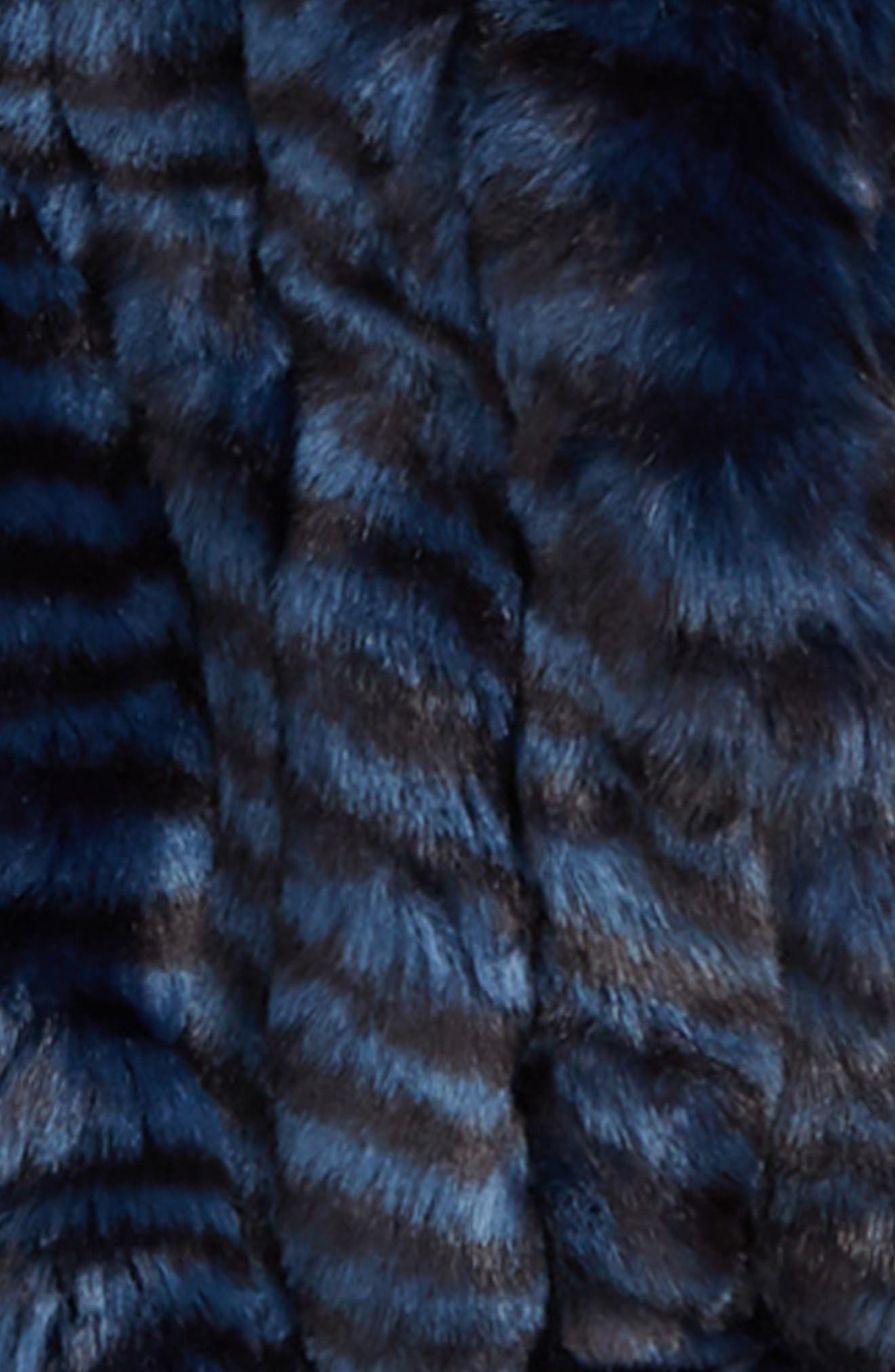 Hooded Faux Fur Coat,                             Alternate thumbnail 2, color,                             401