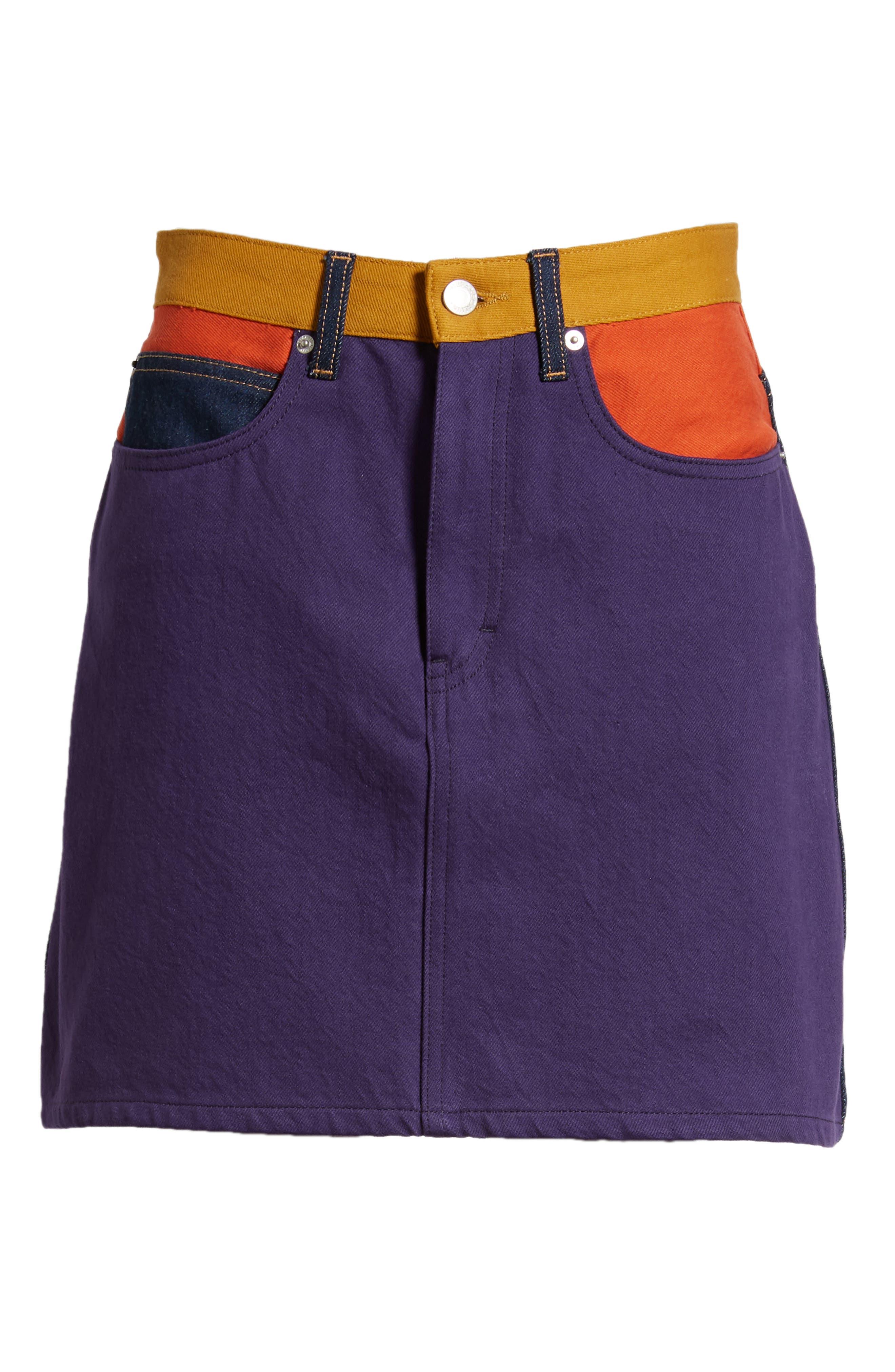 HR Miniskirt,                             Alternate thumbnail 7, color,                             UKELELY PATCH